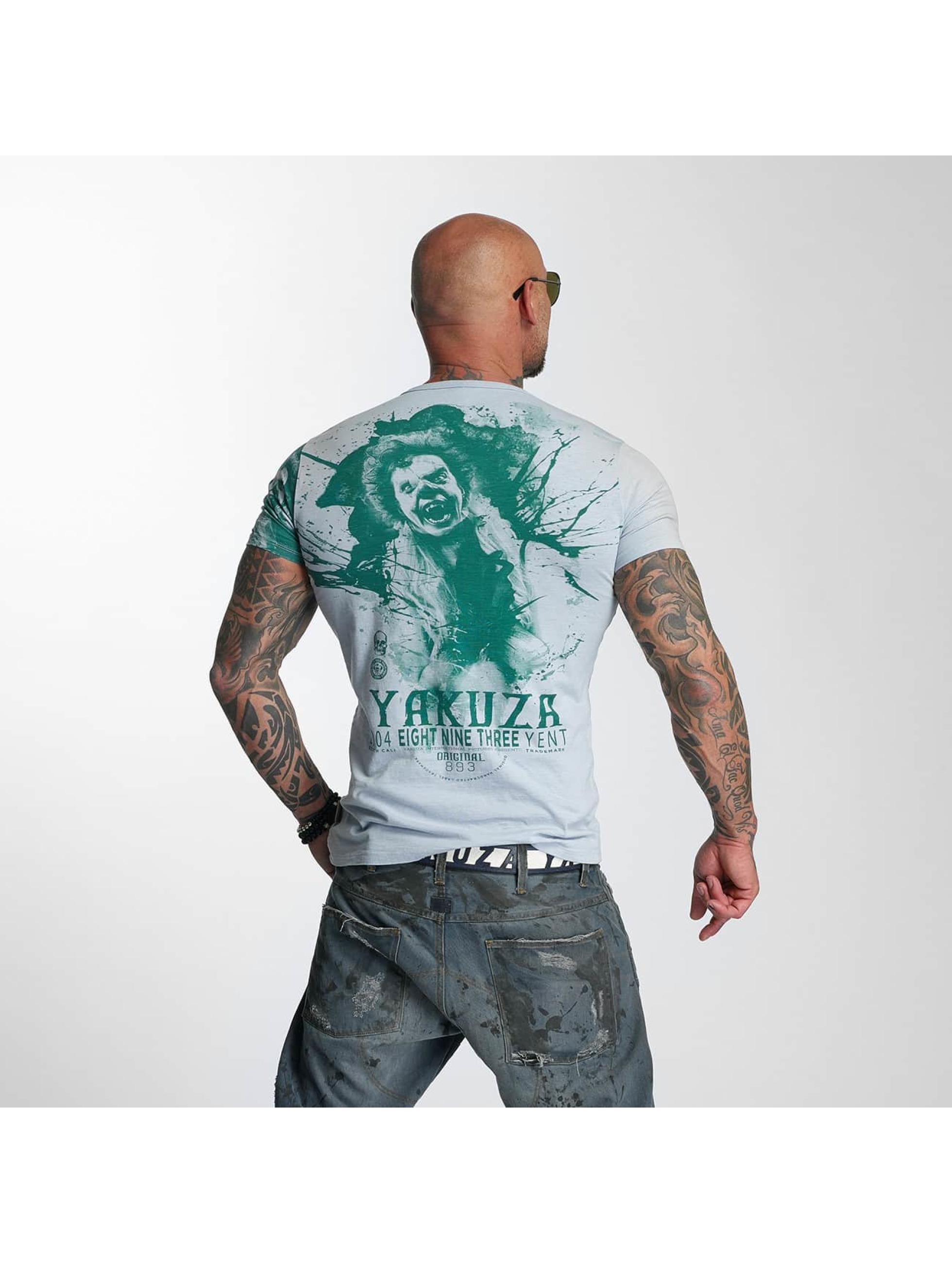Yakuza T-Shirty Yent szary