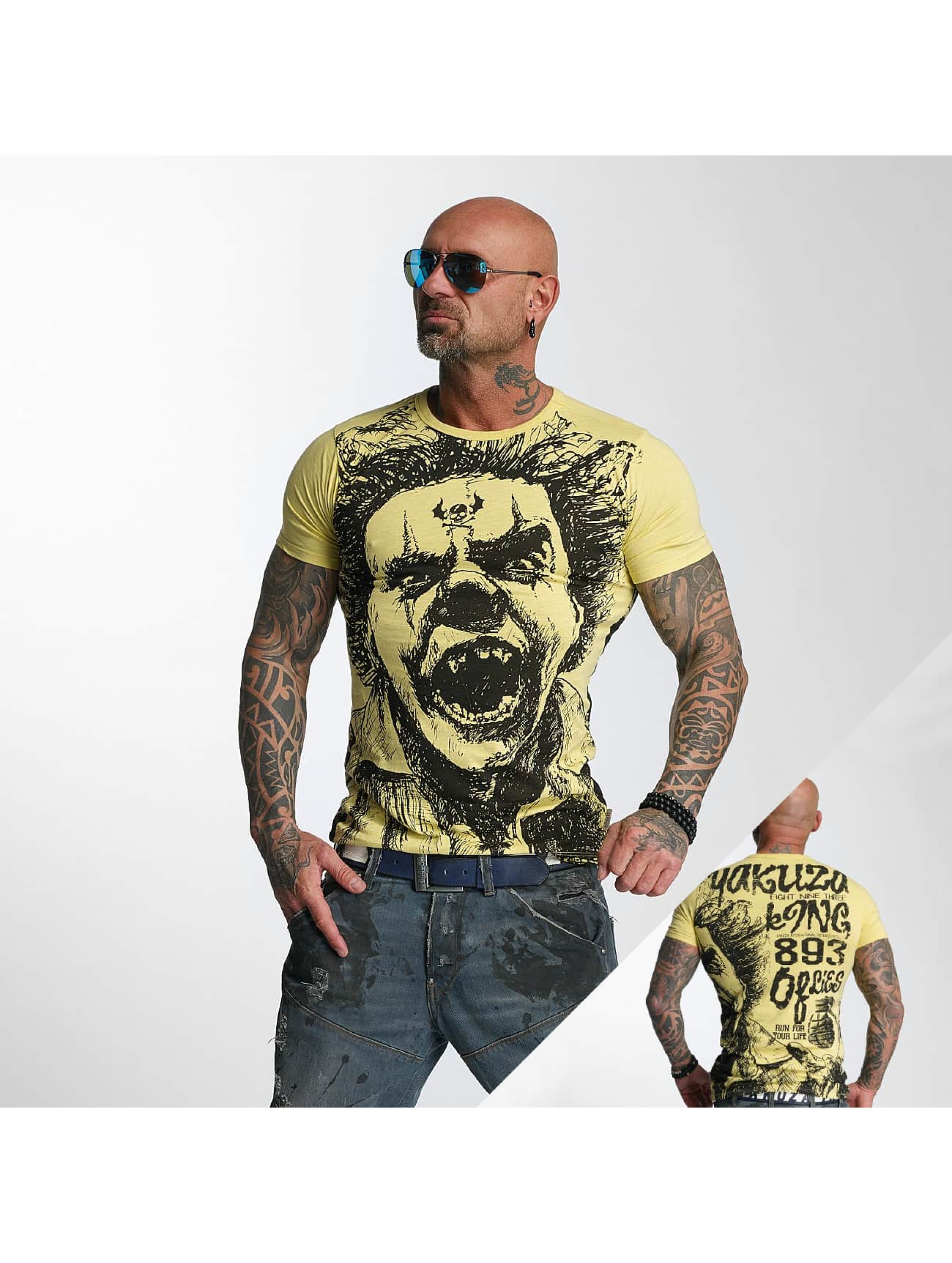 Yakuza T-skjorter King beige