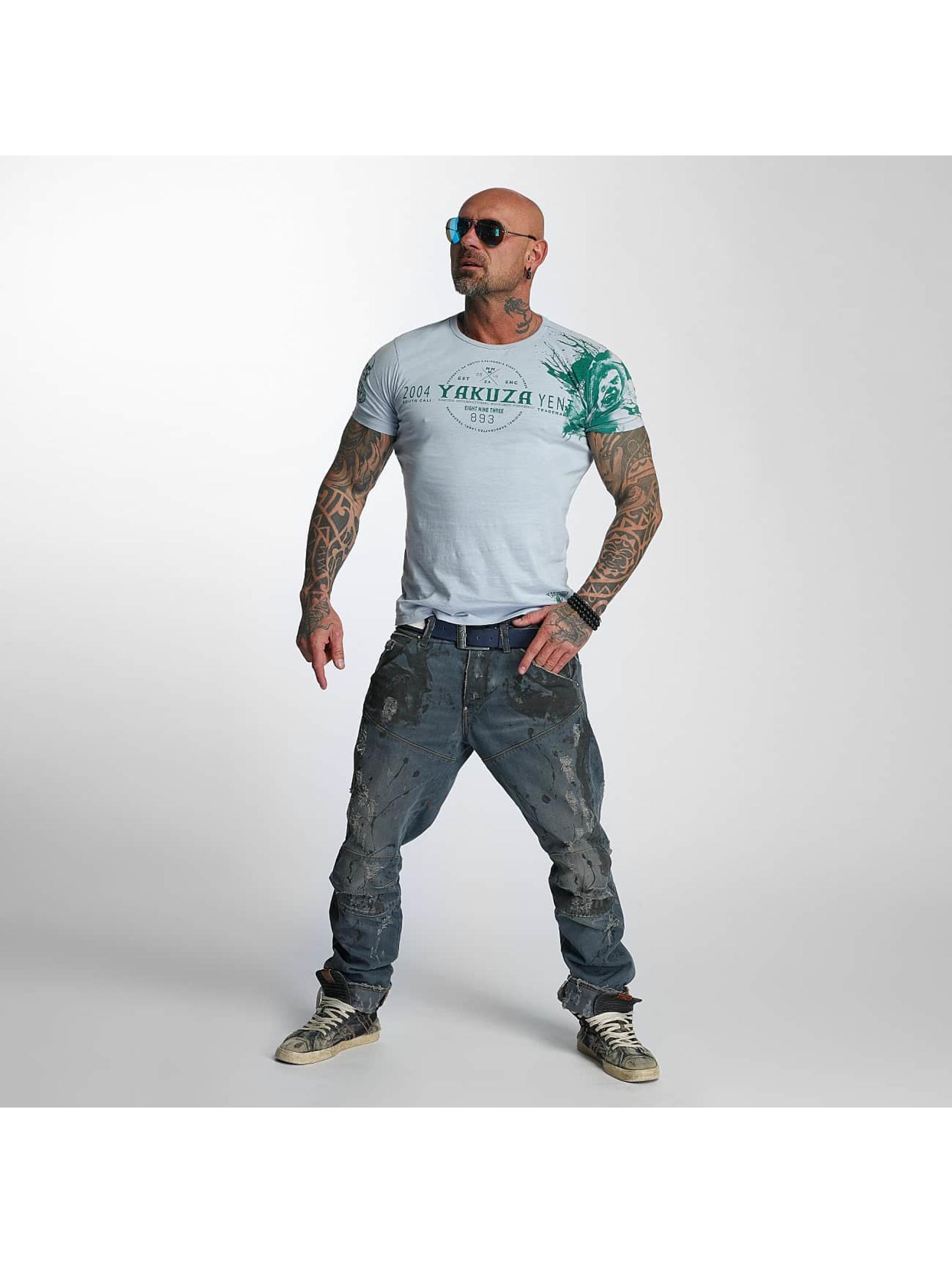 Yakuza T-skjorter Yent grå