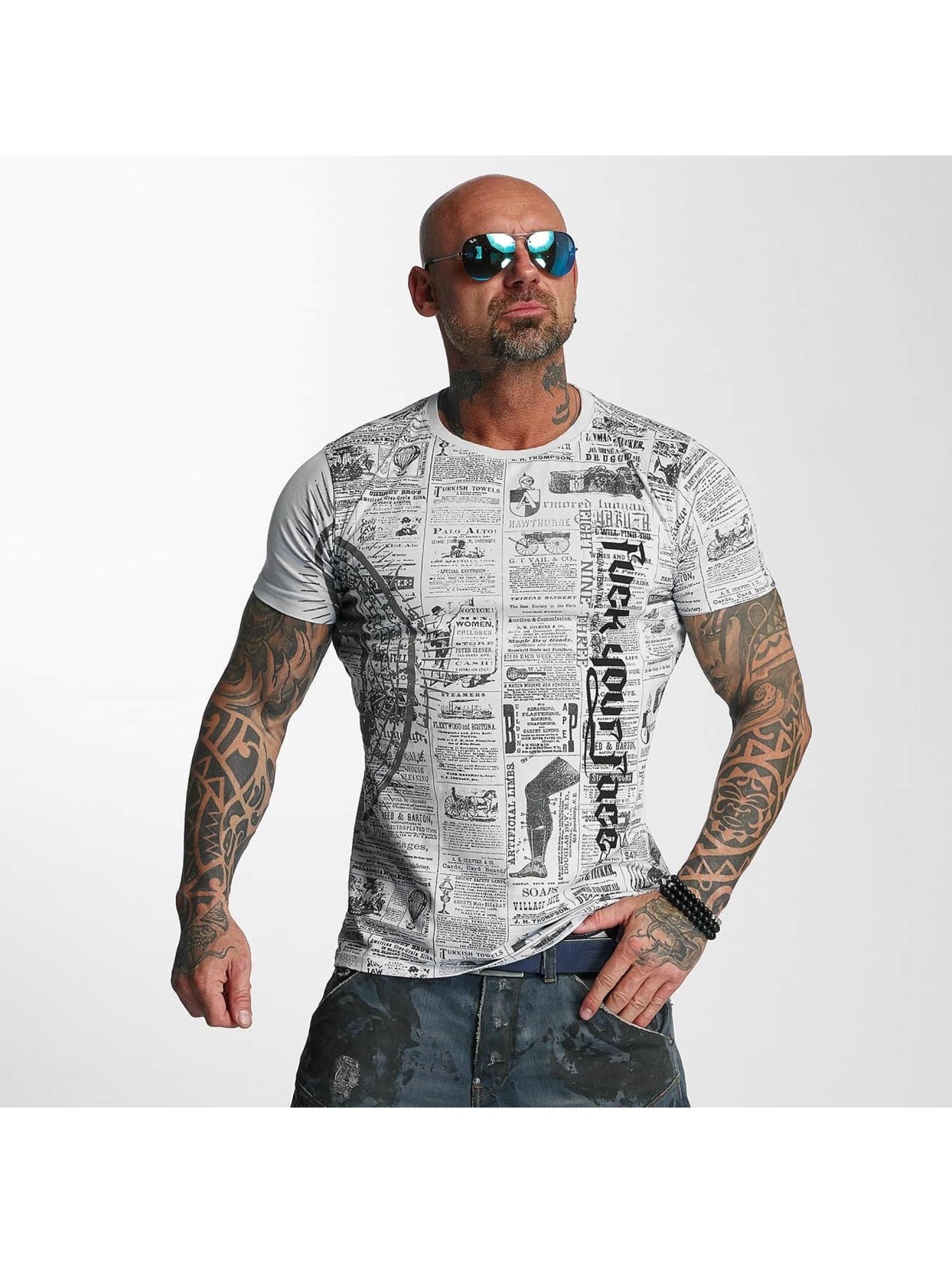 Yakuza T-skjorter F.Y.F. grå