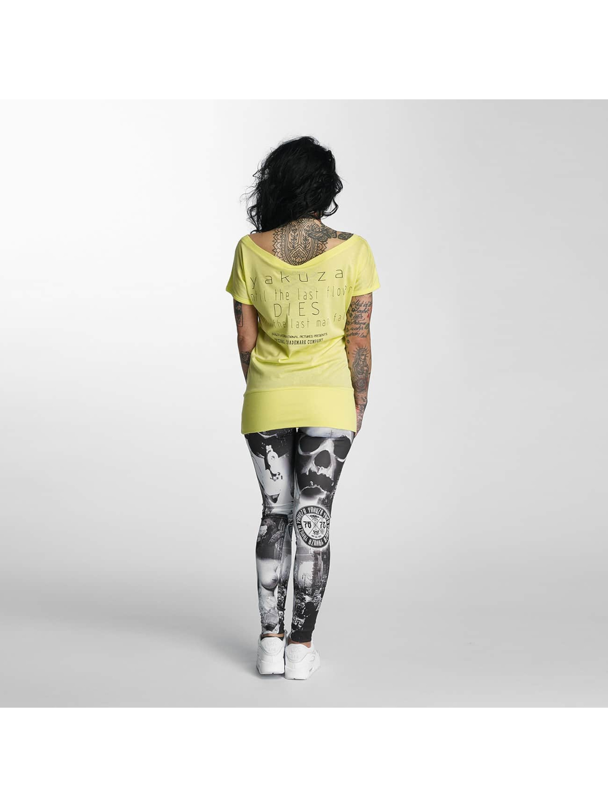 Yakuza T-skjorter Respirator gul