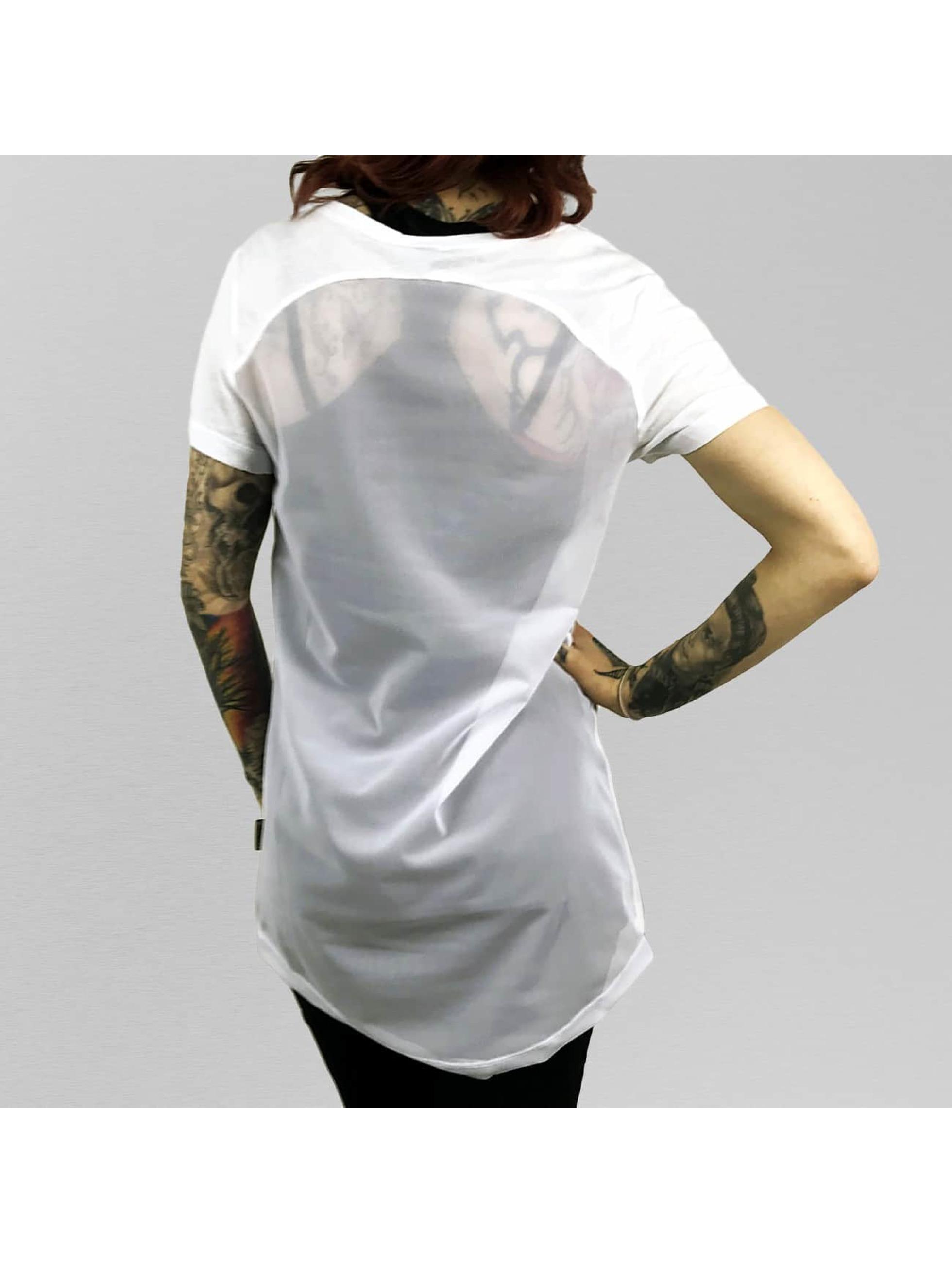 Yakuza T-skjorter Rocker Limpid hvit