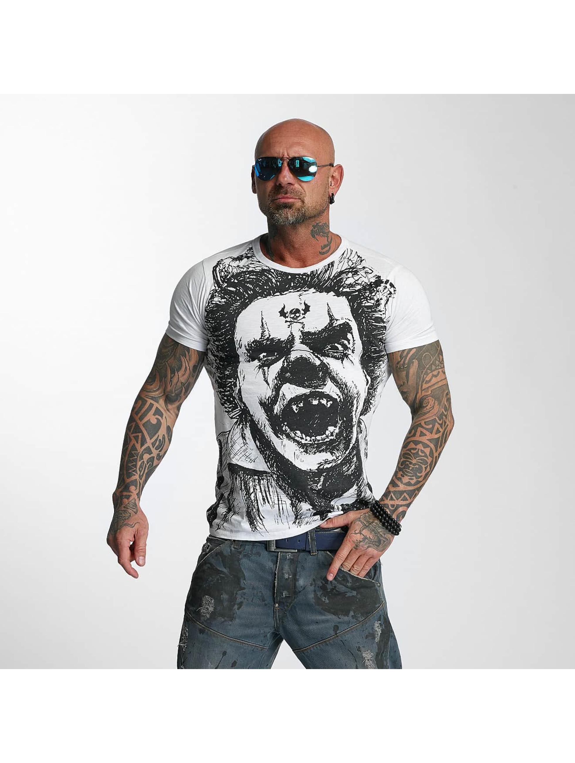 Yakuza T-skjorter King hvit