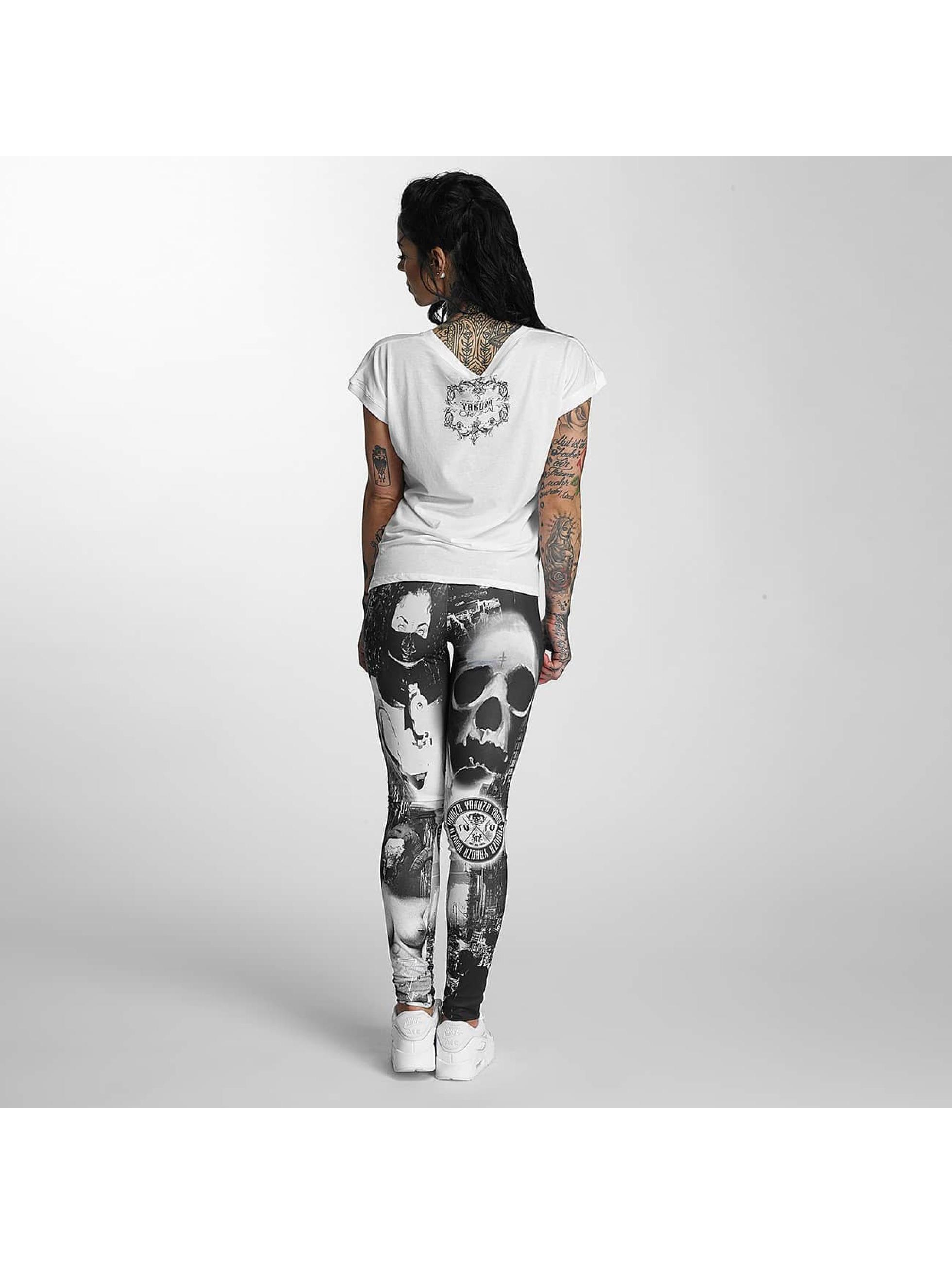 Yakuza T-skjorter Siren Knot hvit