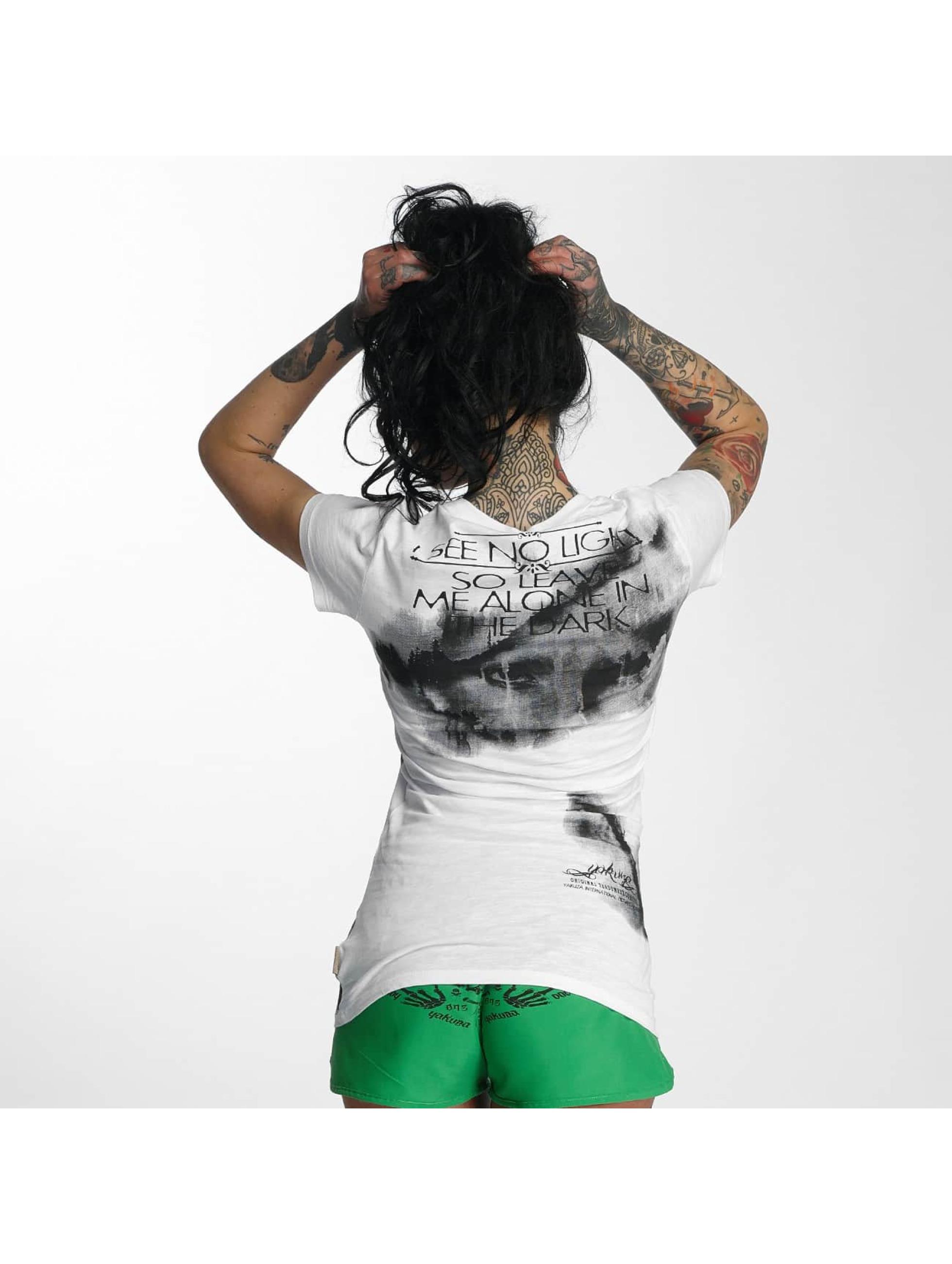 Yakuza T-skjorter No Light hvit
