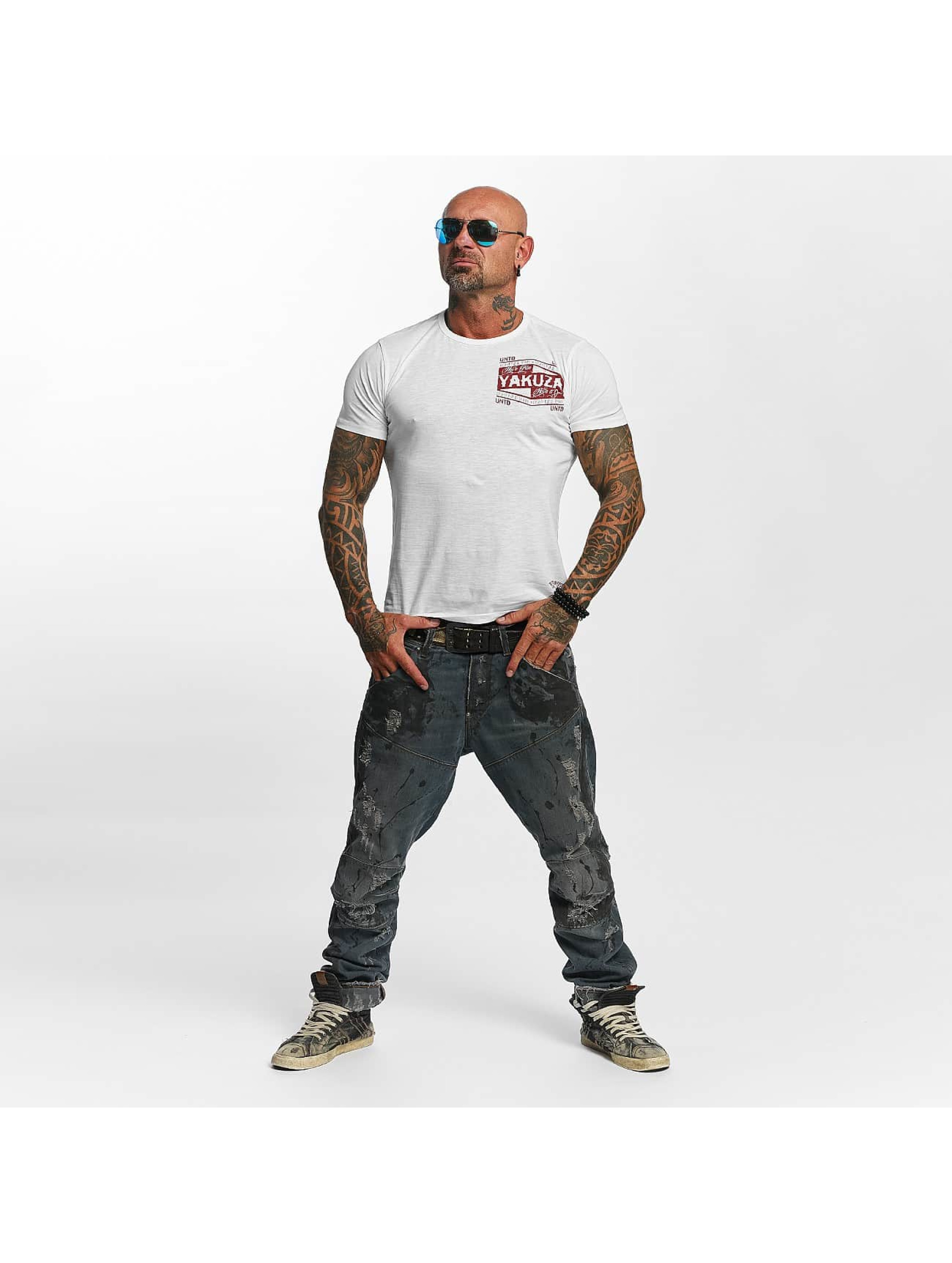 Yakuza T-skjorter Untd hvit