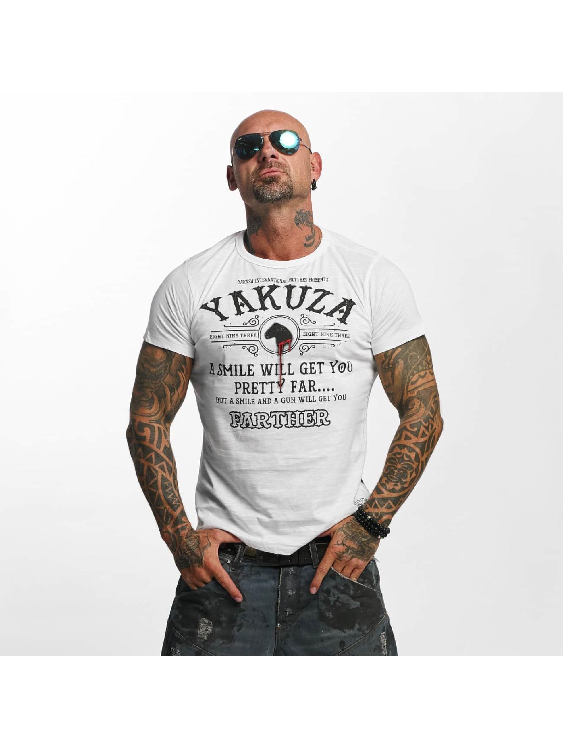 Yakuza T-skjorter Farther hvit