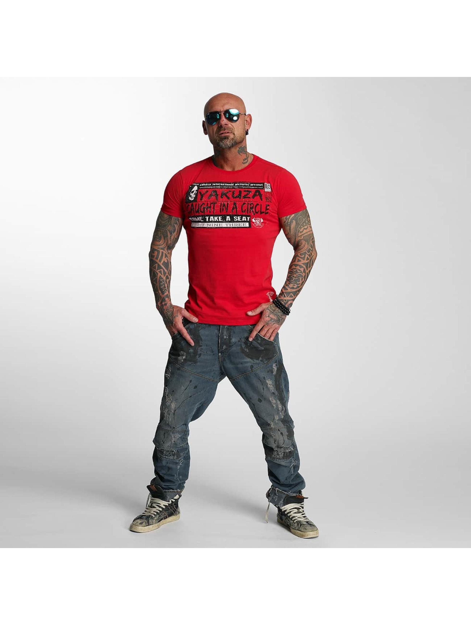 Yakuza T-skjorter Take A Seat red