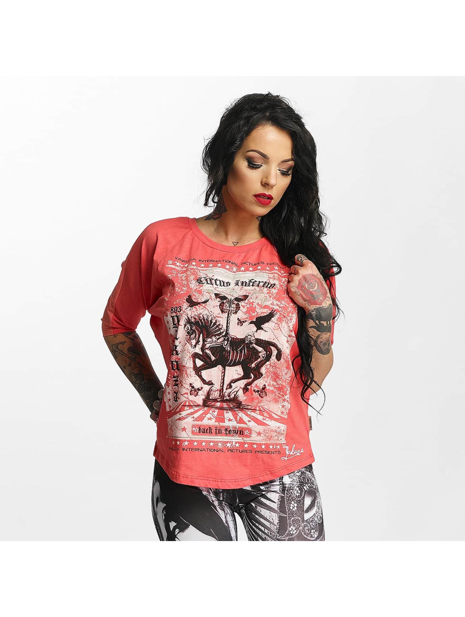 Yakuza T-skjorter Circus Inferno rosa