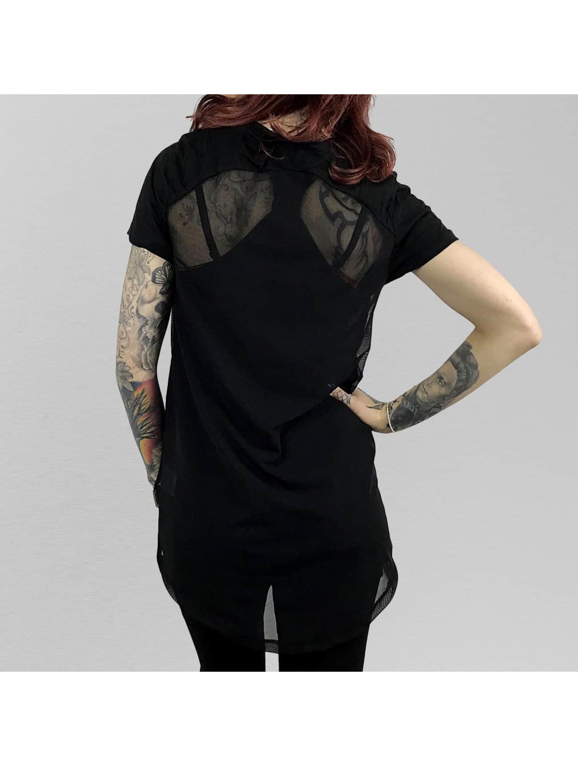 Yakuza T-skjorter Rocker Limpid svart