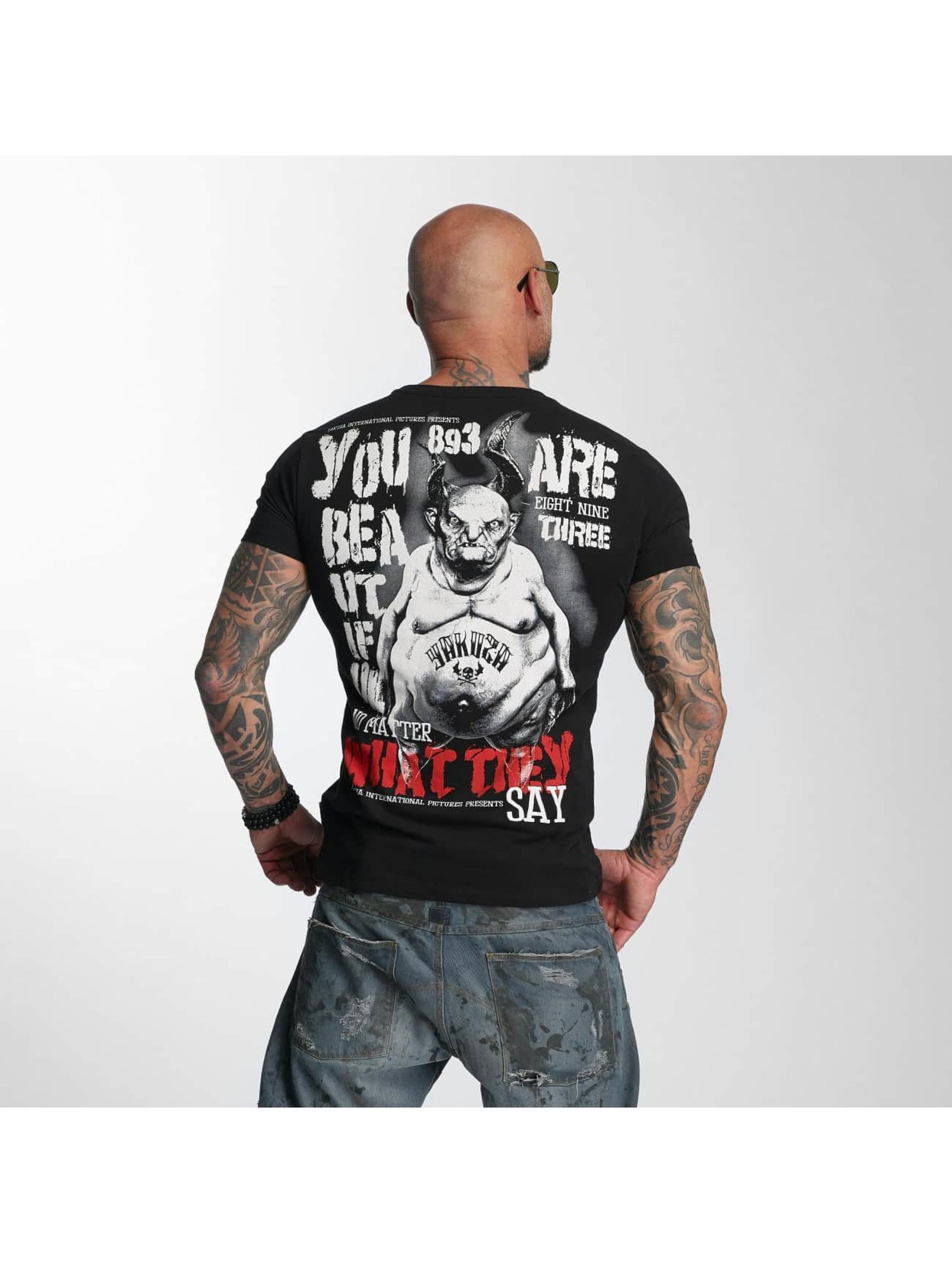 Yakuza T-skjorter U R Beautiful svart