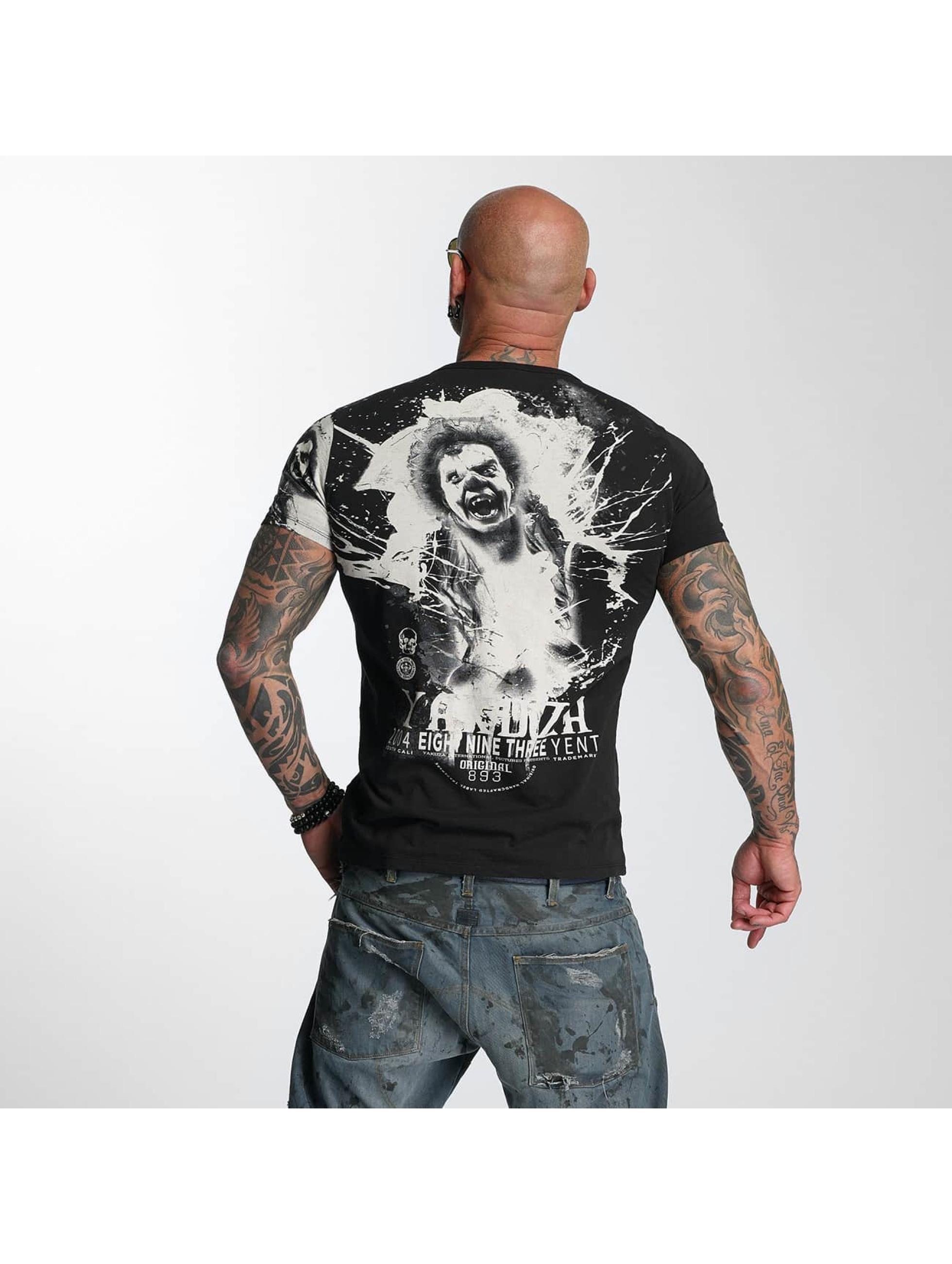Yakuza T-skjorter Yent svart