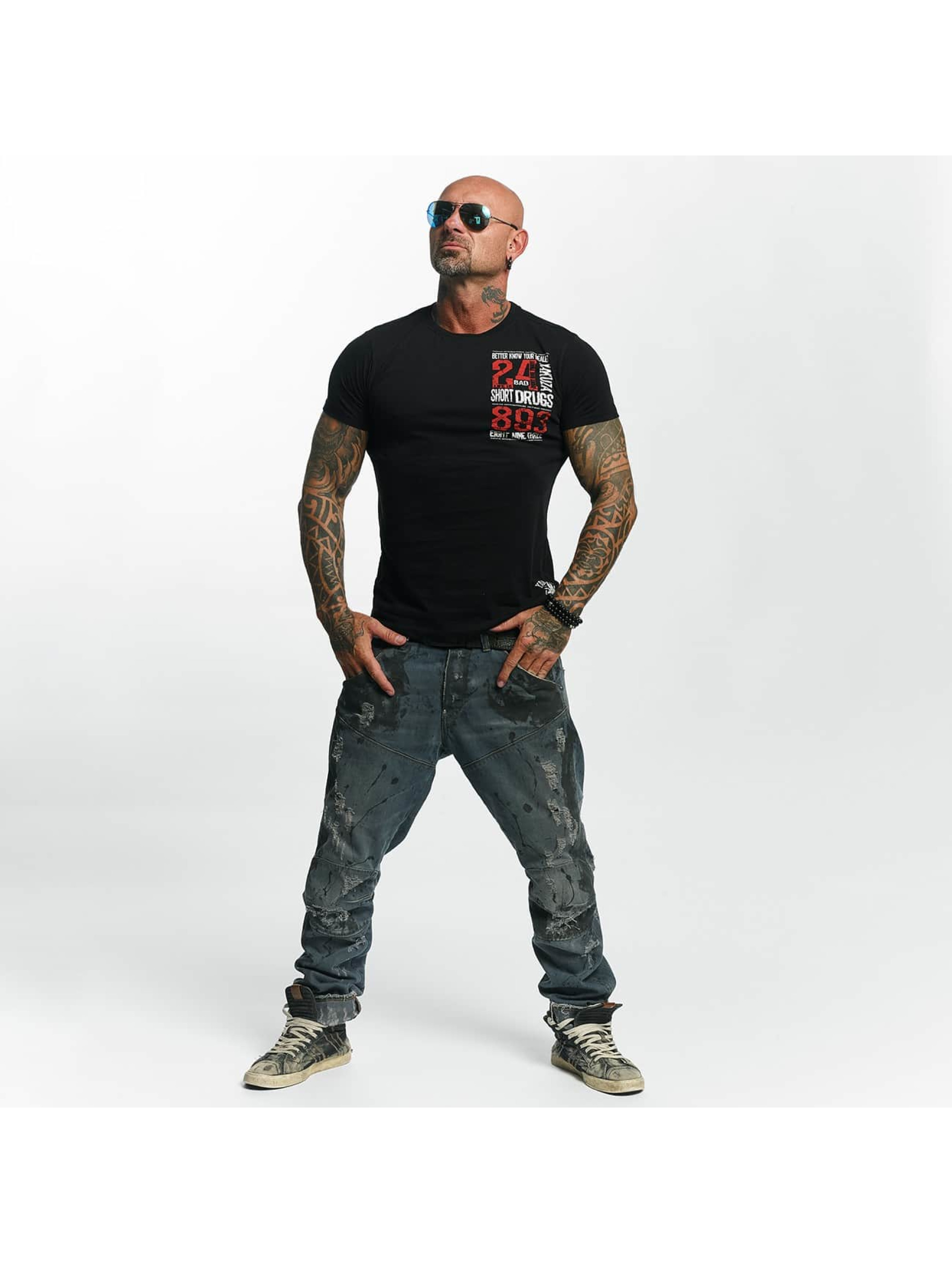 Yakuza T-skjorter Know Your Dealer svart