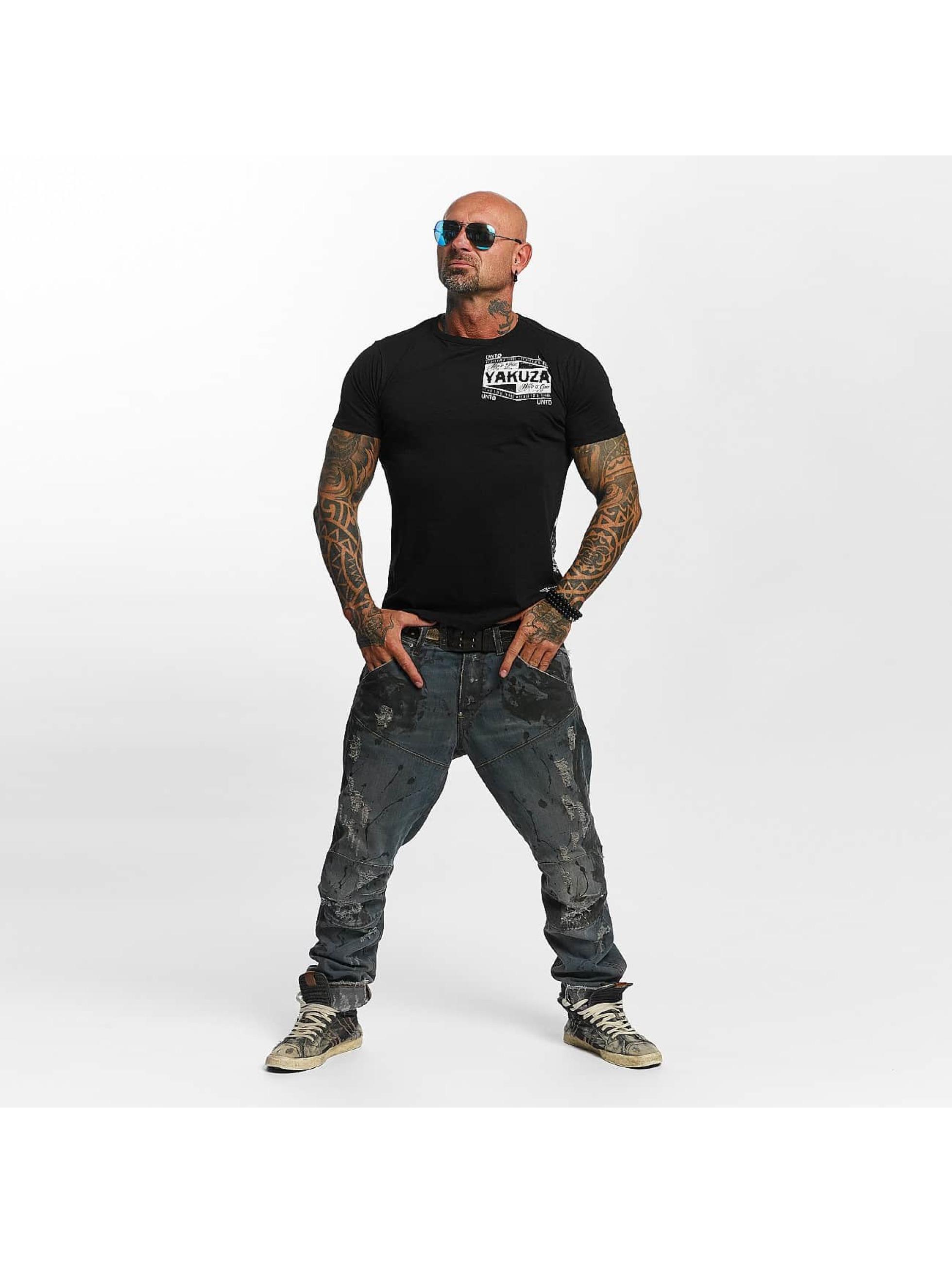 Yakuza T-skjorter Untd svart