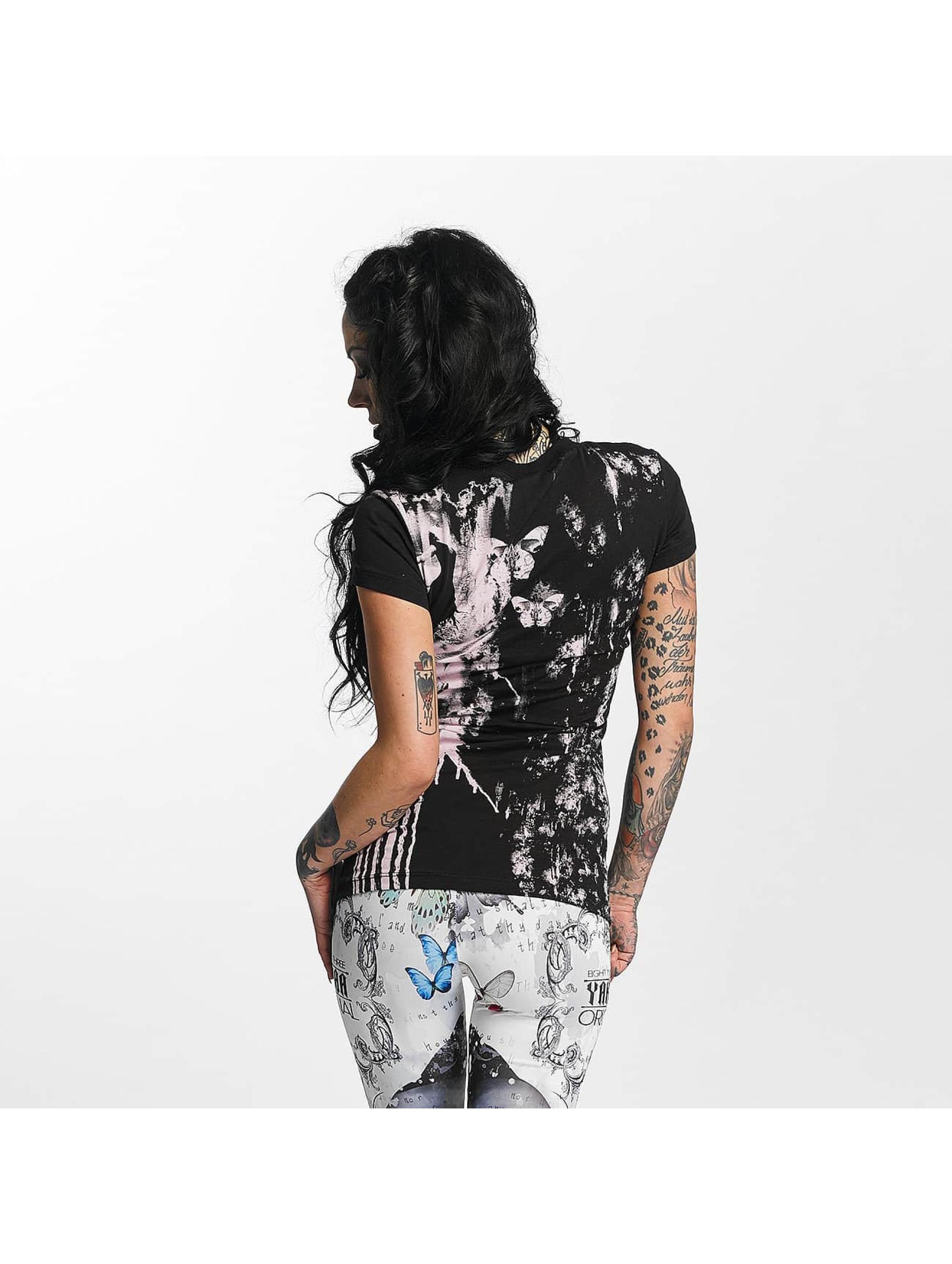 Yakuza T-skjorter Unicorn svart