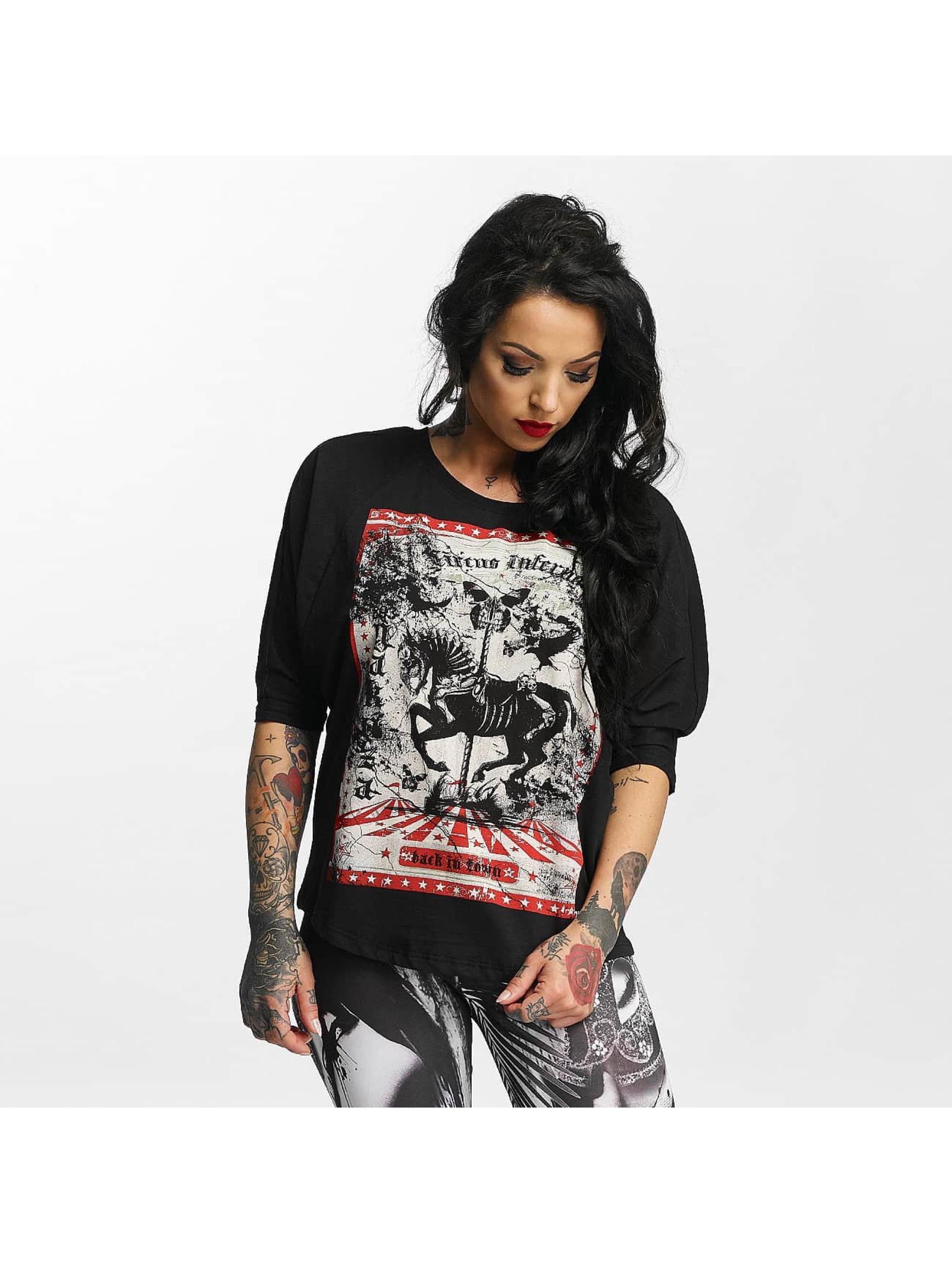 Yakuza T-skjorter Circus Inferno svart
