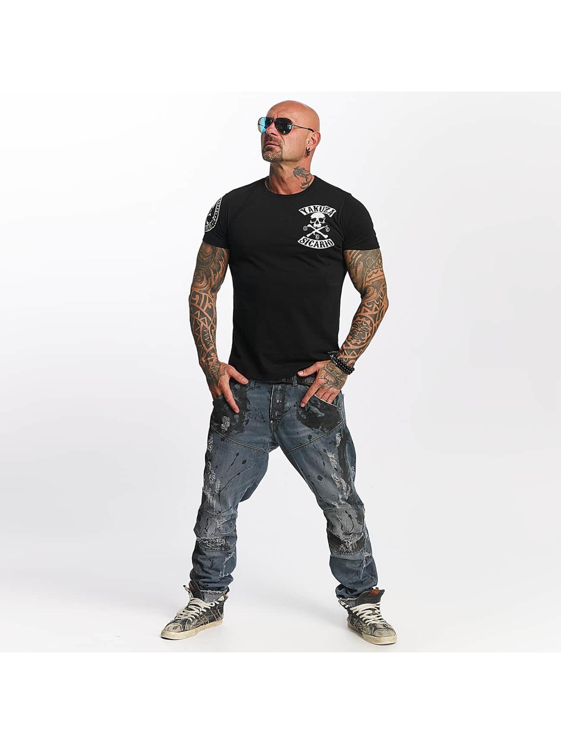 Yakuza T-skjorter Sicario svart