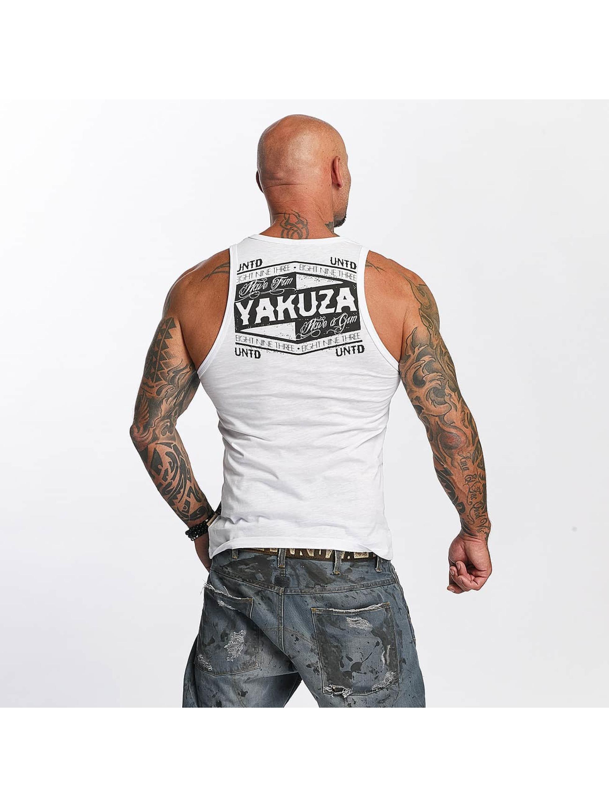 Yakuza Tank Tops Untd bialy