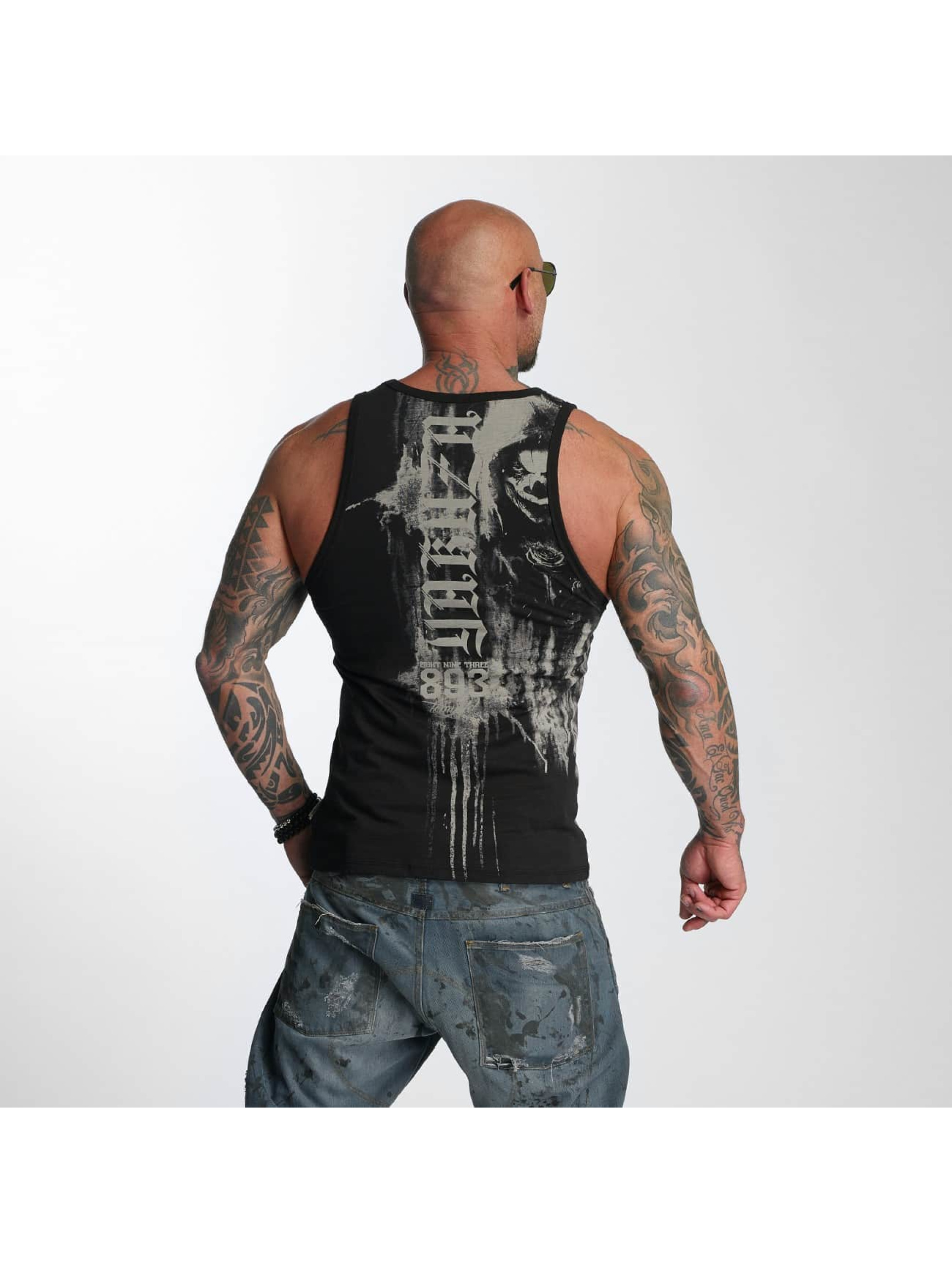 Yakuza Tank Tops Waiting Death black