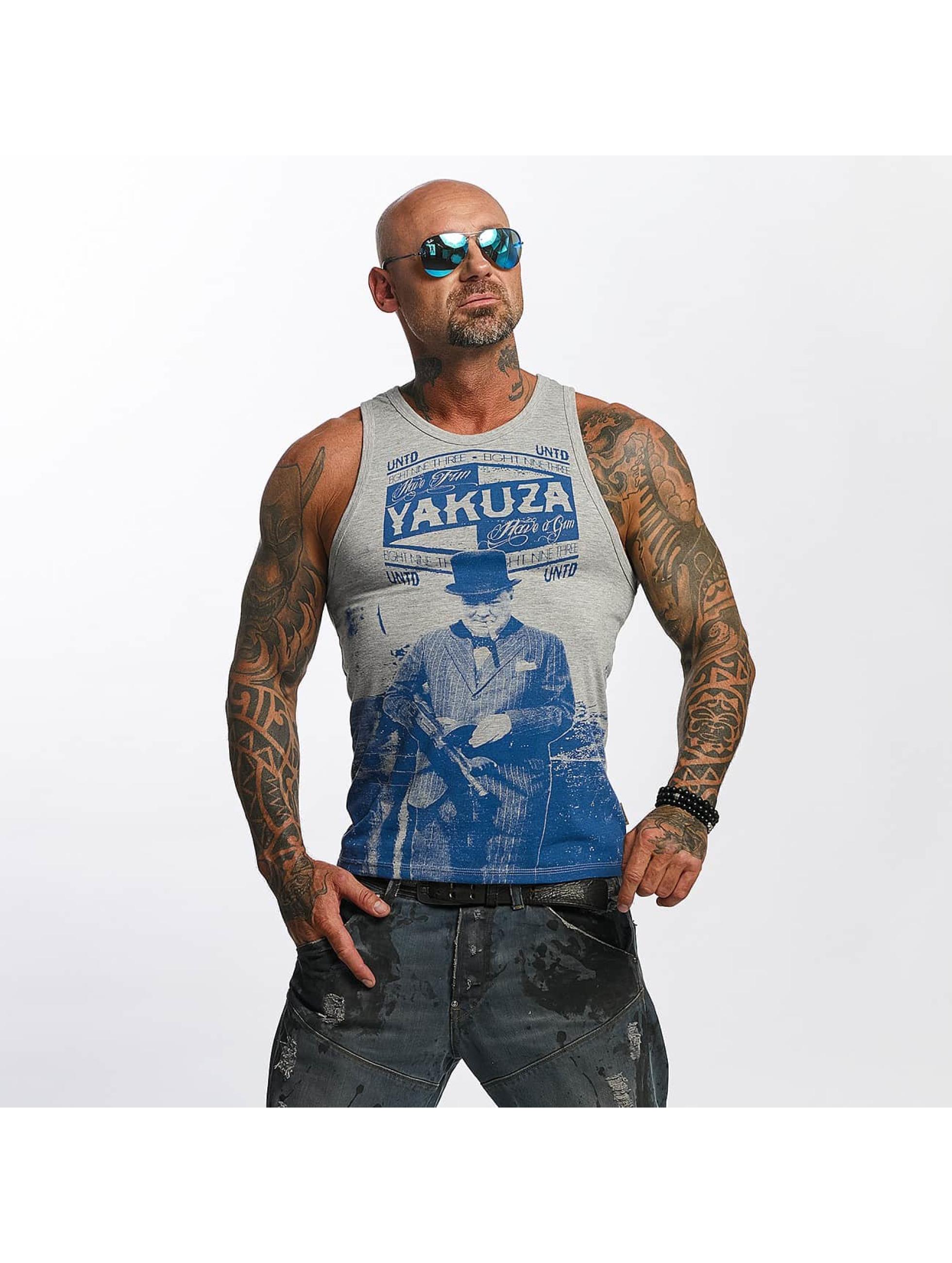 Yakuza Tank Tops Untd grå