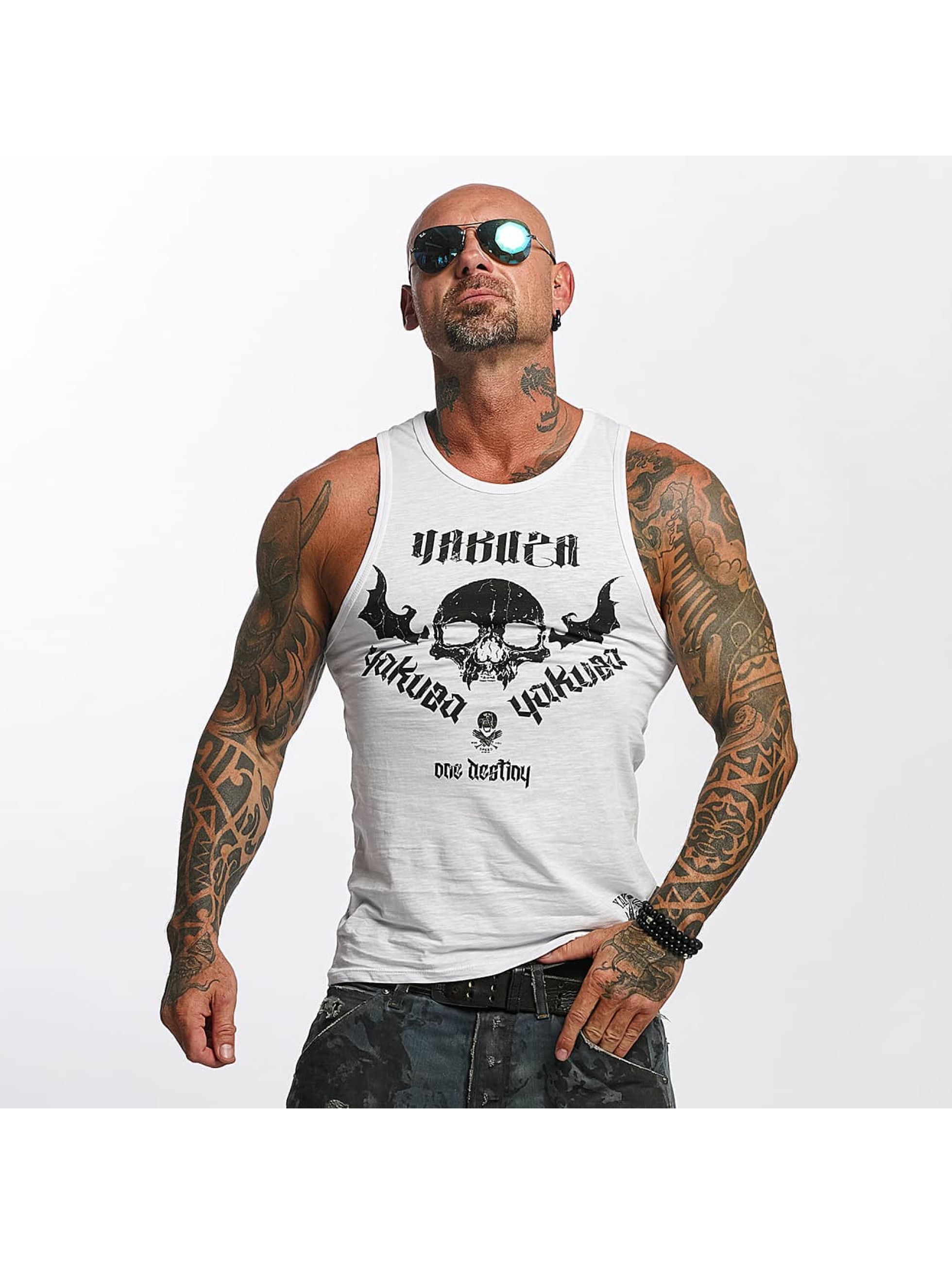 Yakuza Tank Tops One Love hvit