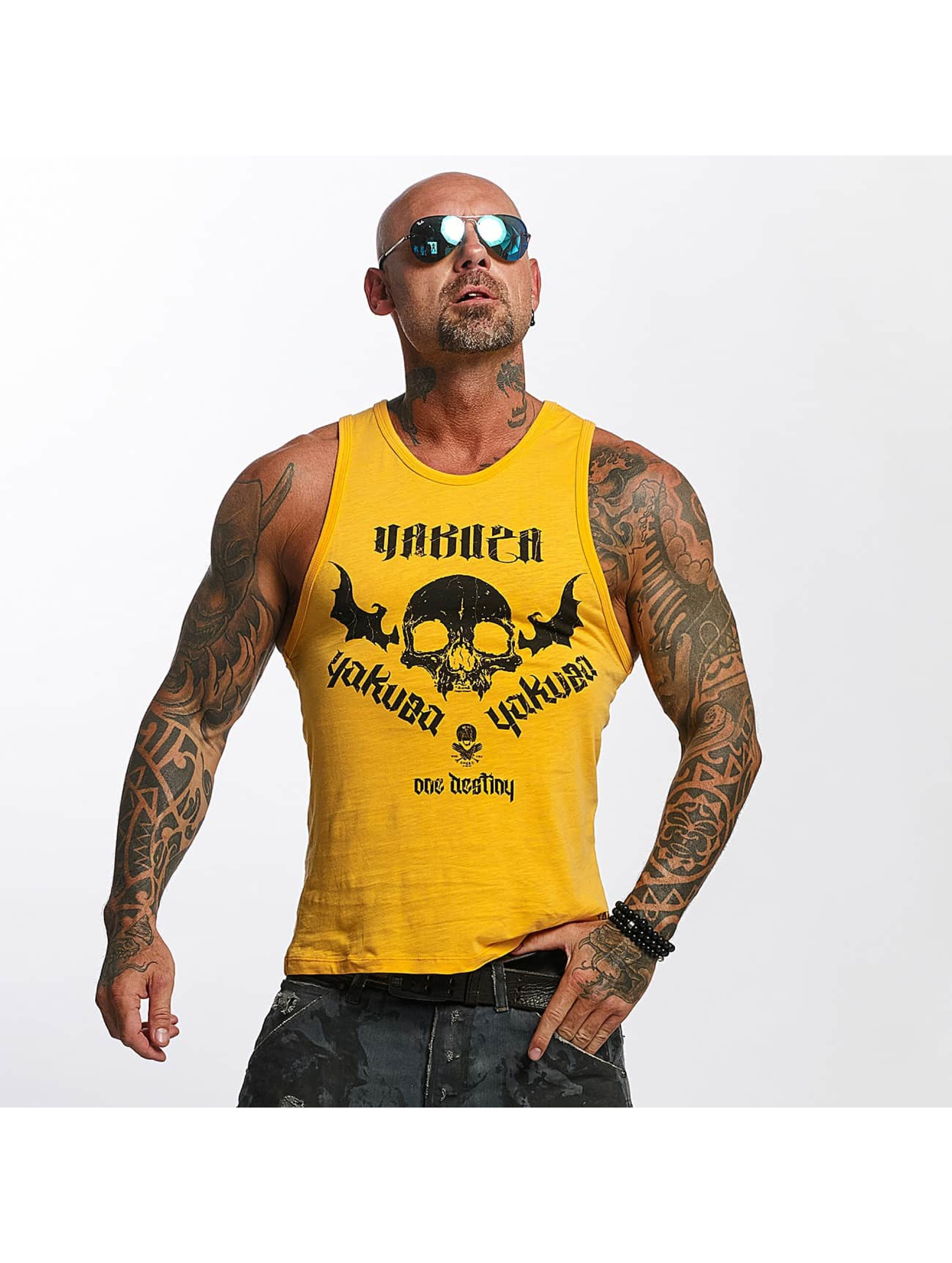 Yakuza Tank Tops One Love oransje