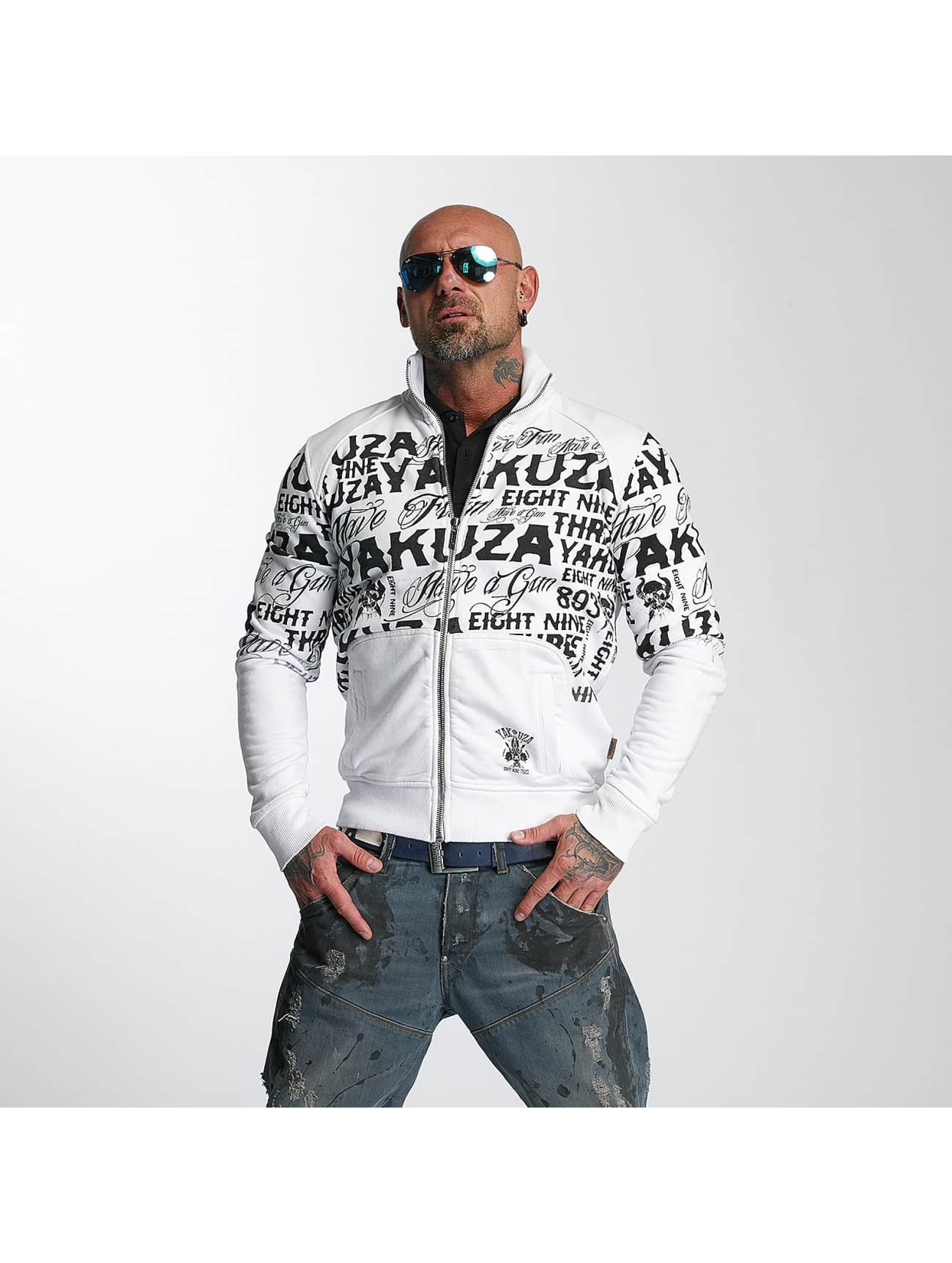 Yakuza Transitional Jackets Allover Label hvit