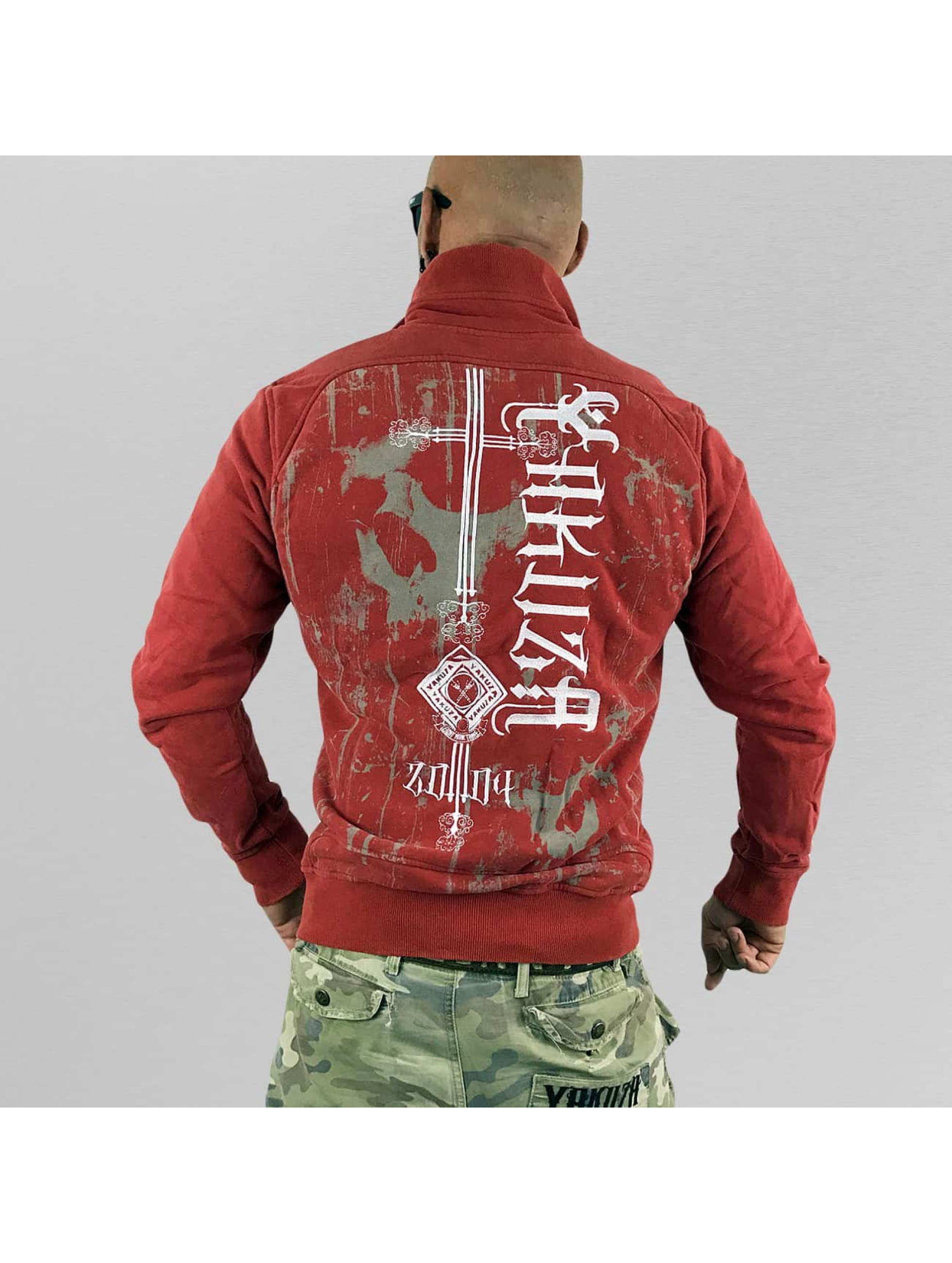 Yakuza Transitional Jackets Dark Side red