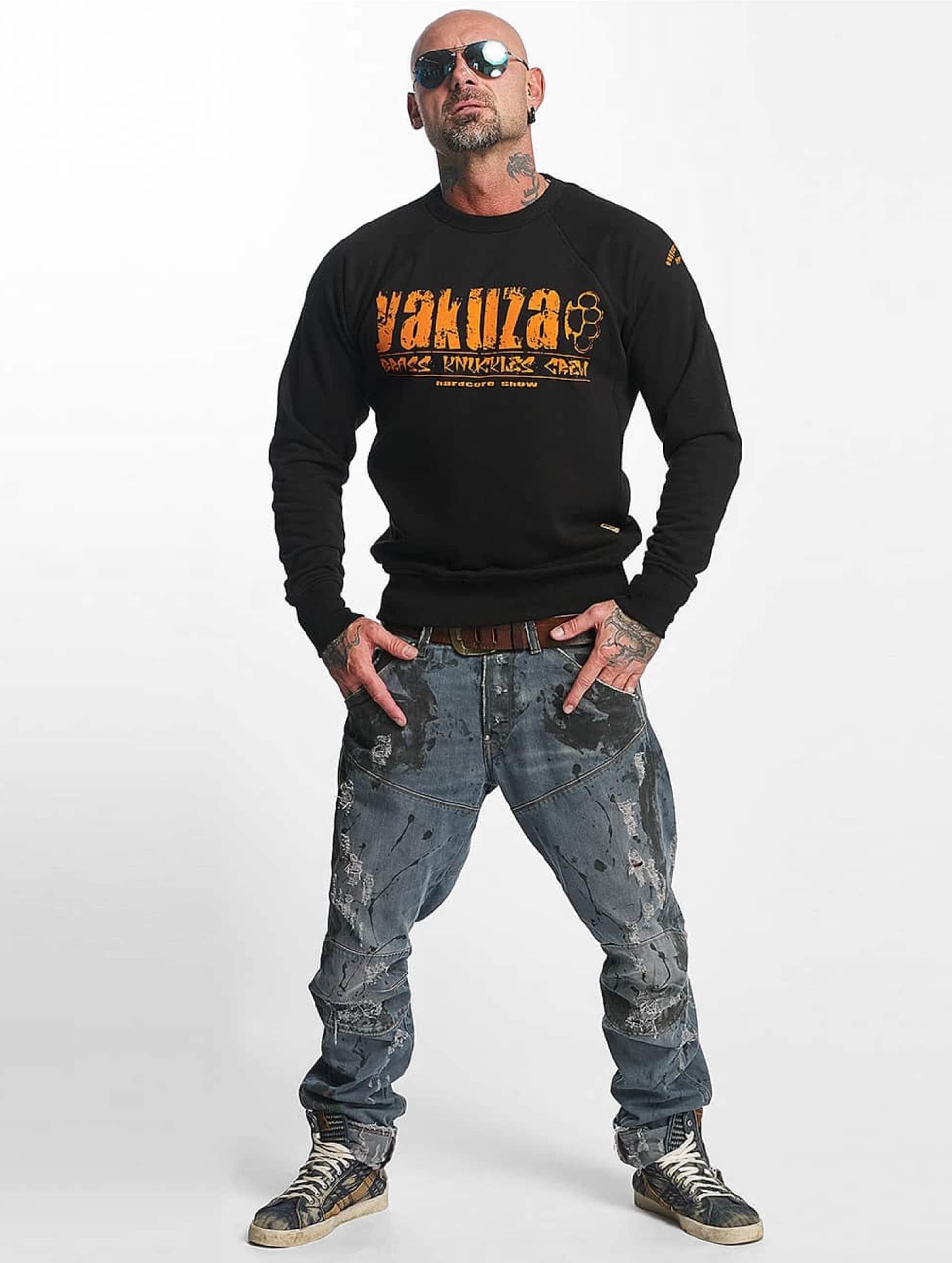 Yakuza trui Brass Knuckles zwart