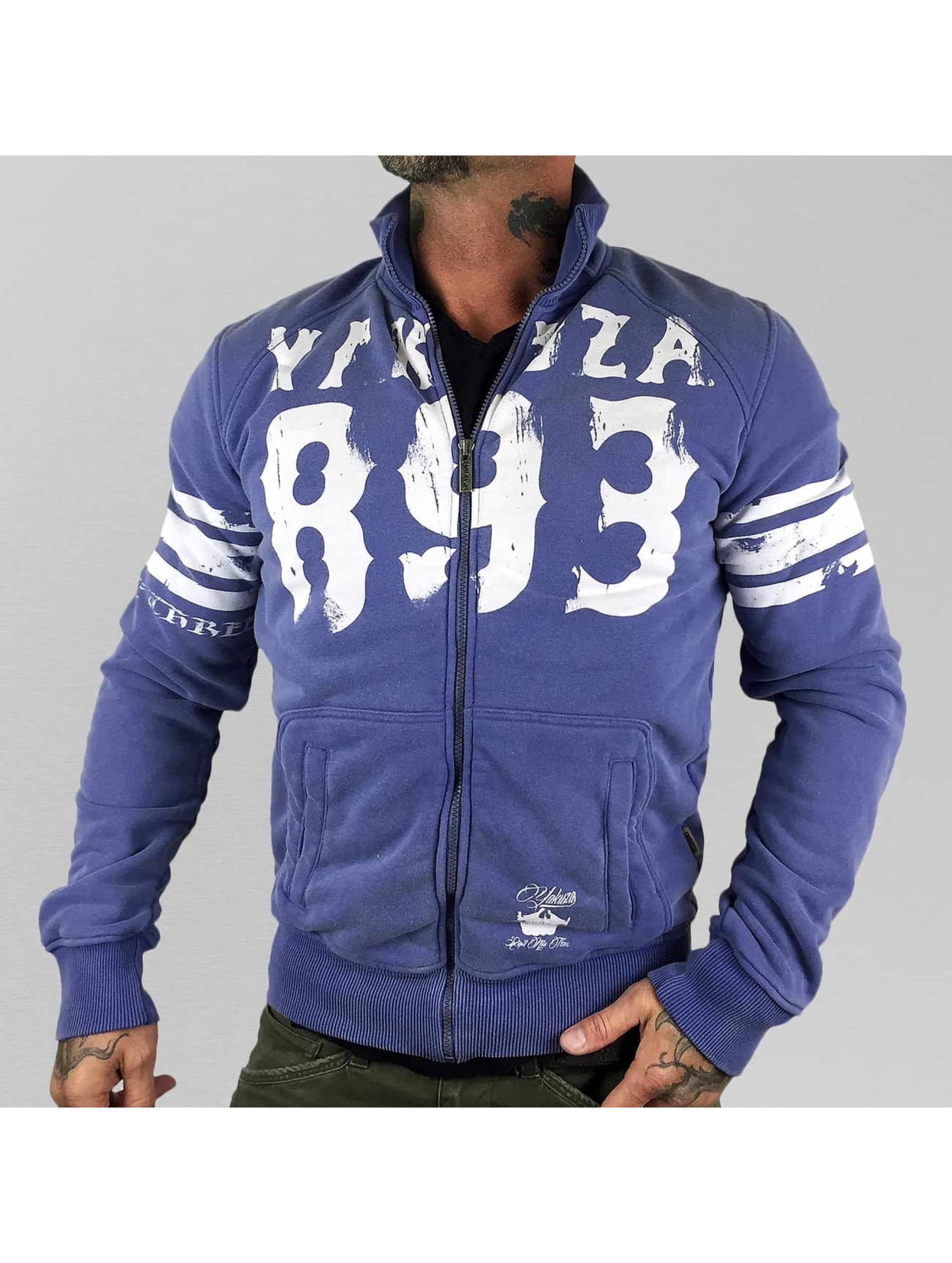 Yakuza Übergangsjacke Thunder And Lightning Zipper violet