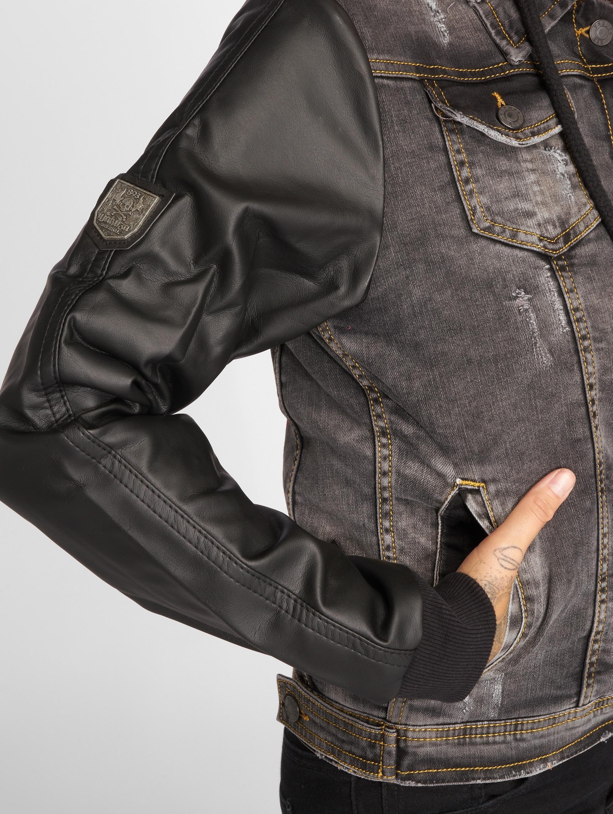 Yakuza Välikausitakit Jacket Black Vintage musta