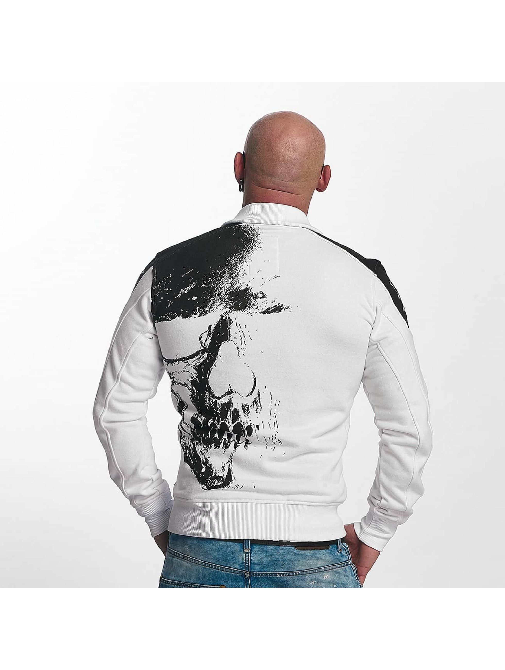 Yakuza Välikausitakit Skull valkoinen