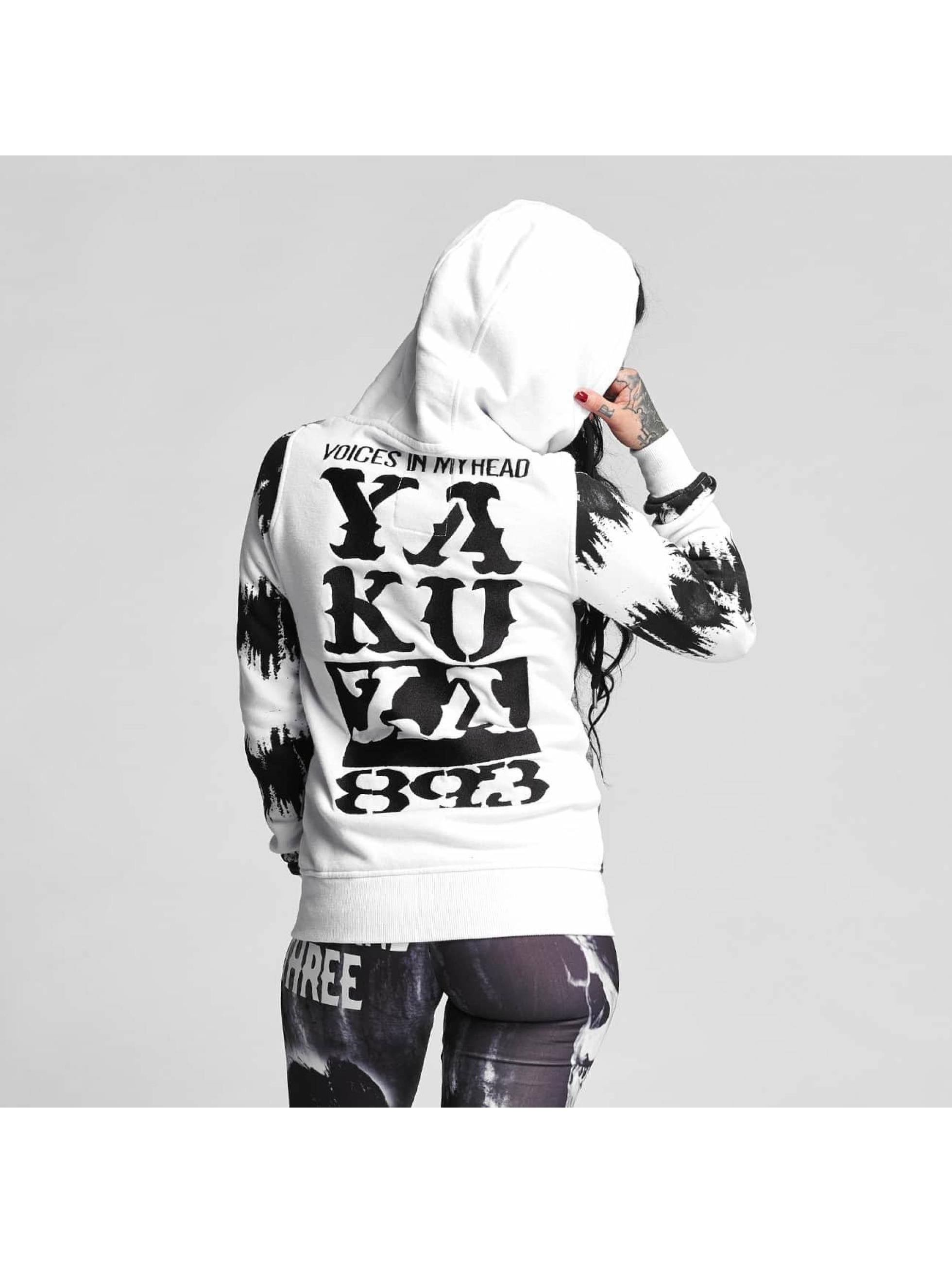 Yakuza Zip Hoodie Voices vit