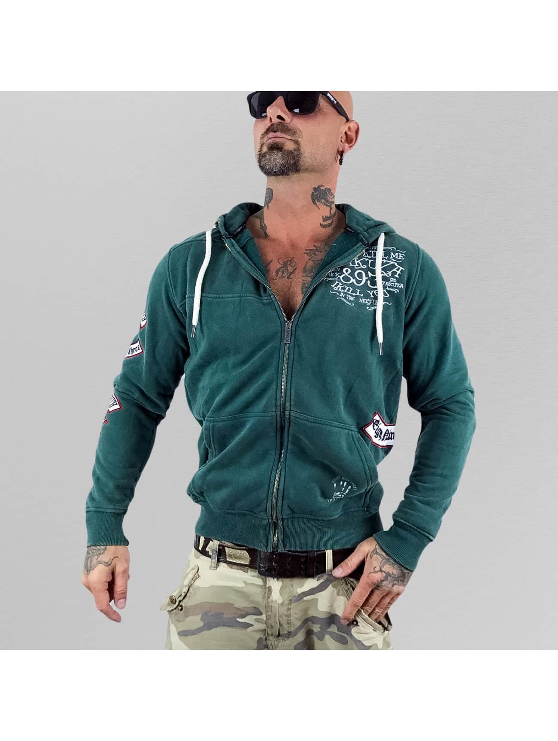 Yakuza Zip Hoodie Kill Me zielony