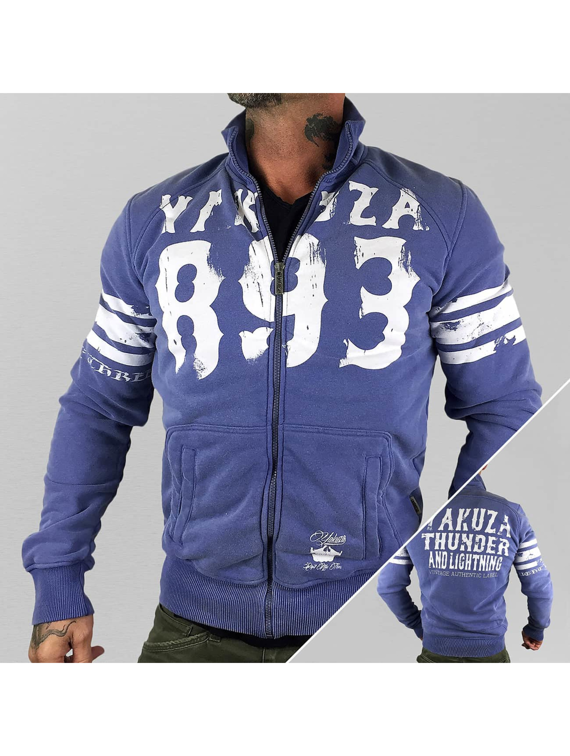 Yakuza Zomerjas Thunder And Lightning Zipper paars