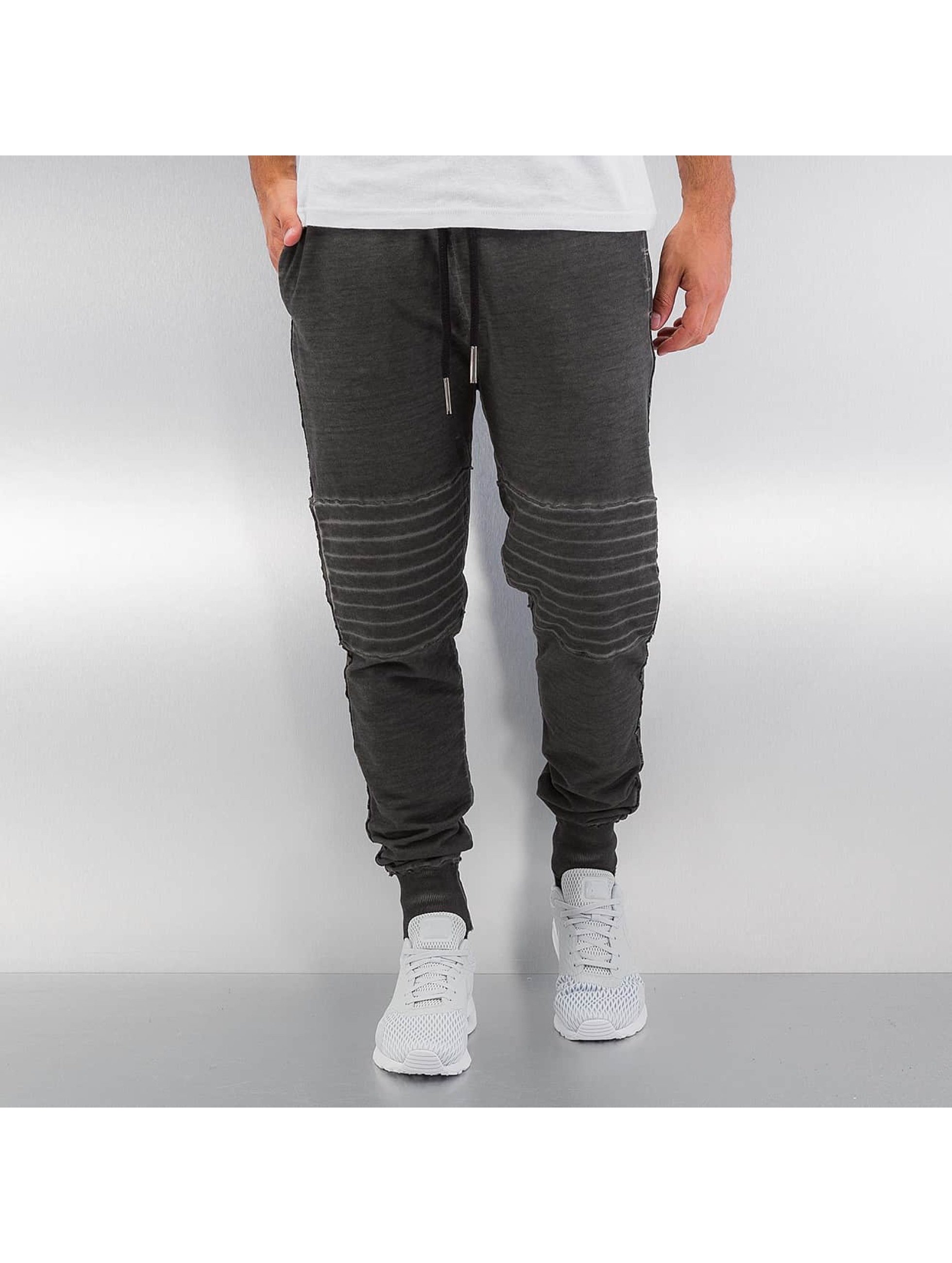 Yezz Jogginghose Washed grau