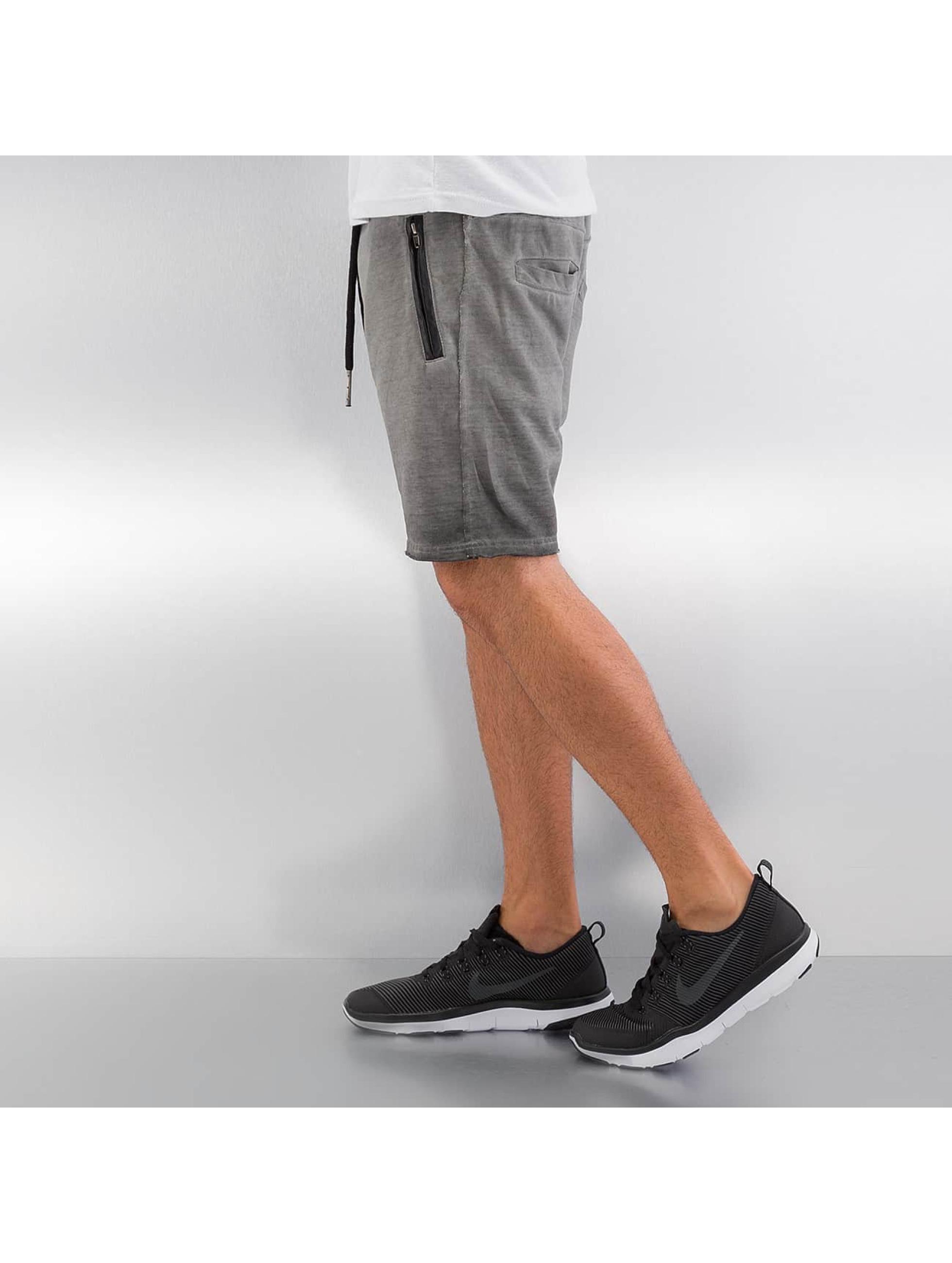 Yezz Shorts Terry Oil grå