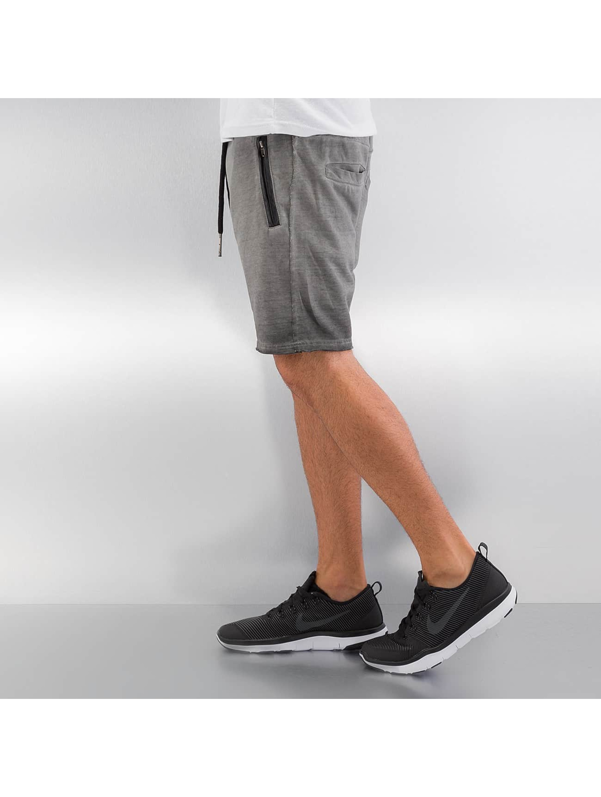 Yezz Shorts Terry Oil grau
