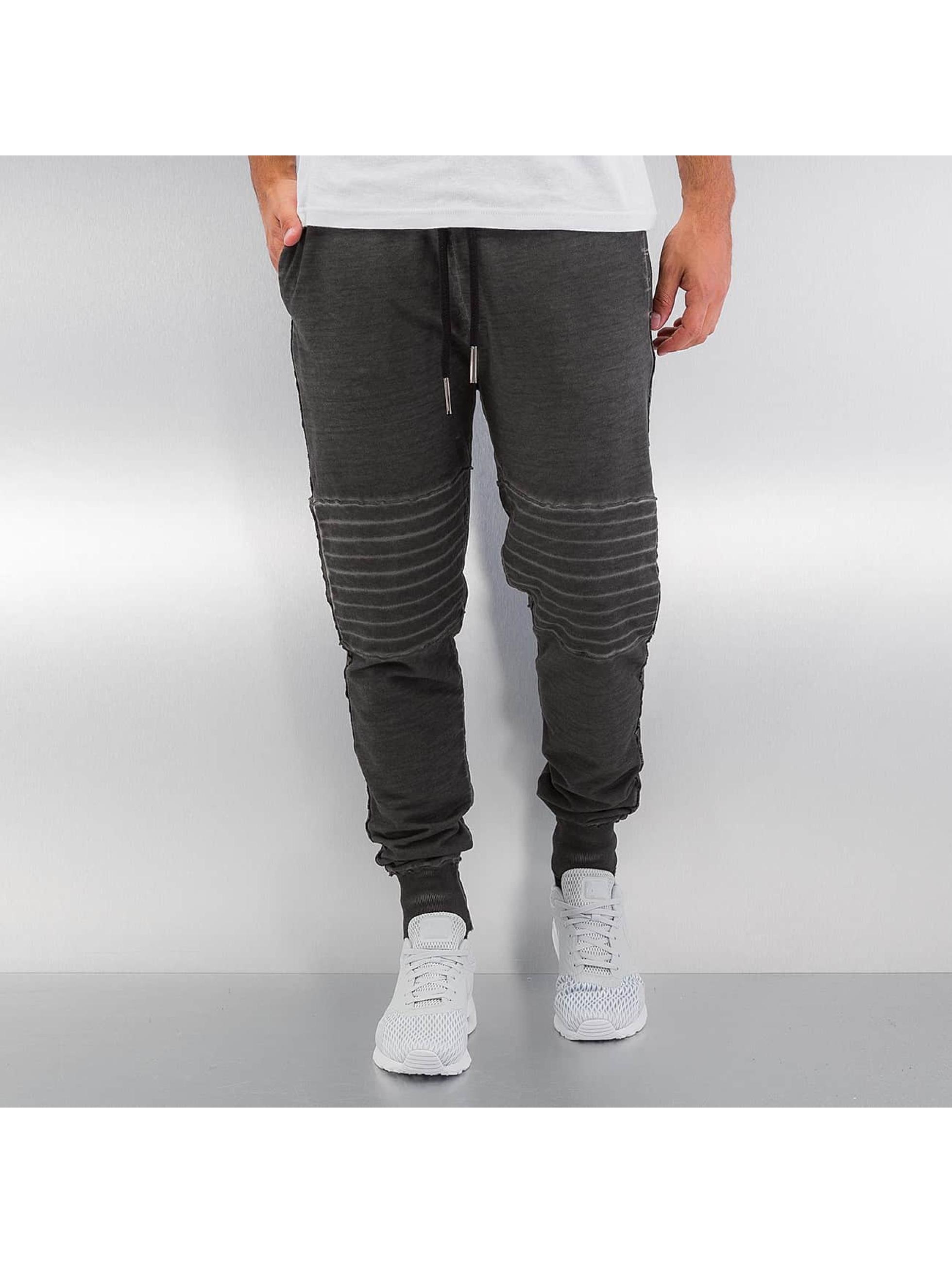 Yezz Spodnie do joggingu Washed szary