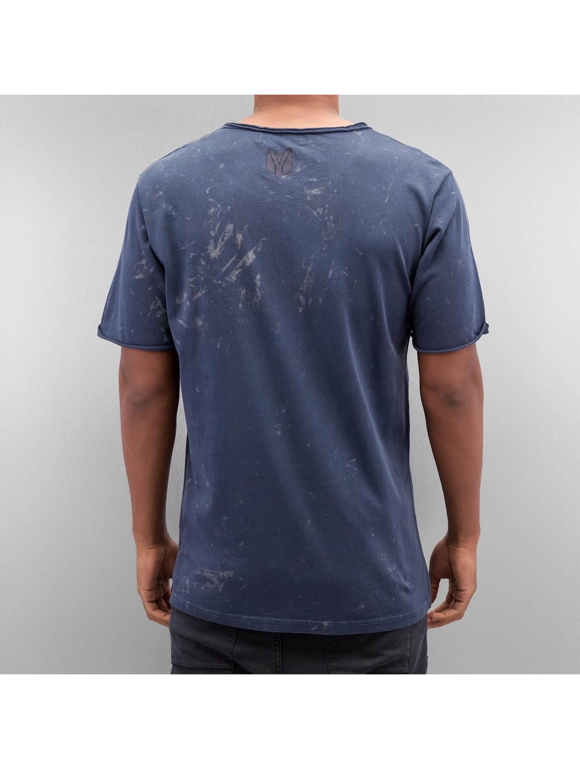 Yezz T-shirt Bleched blå