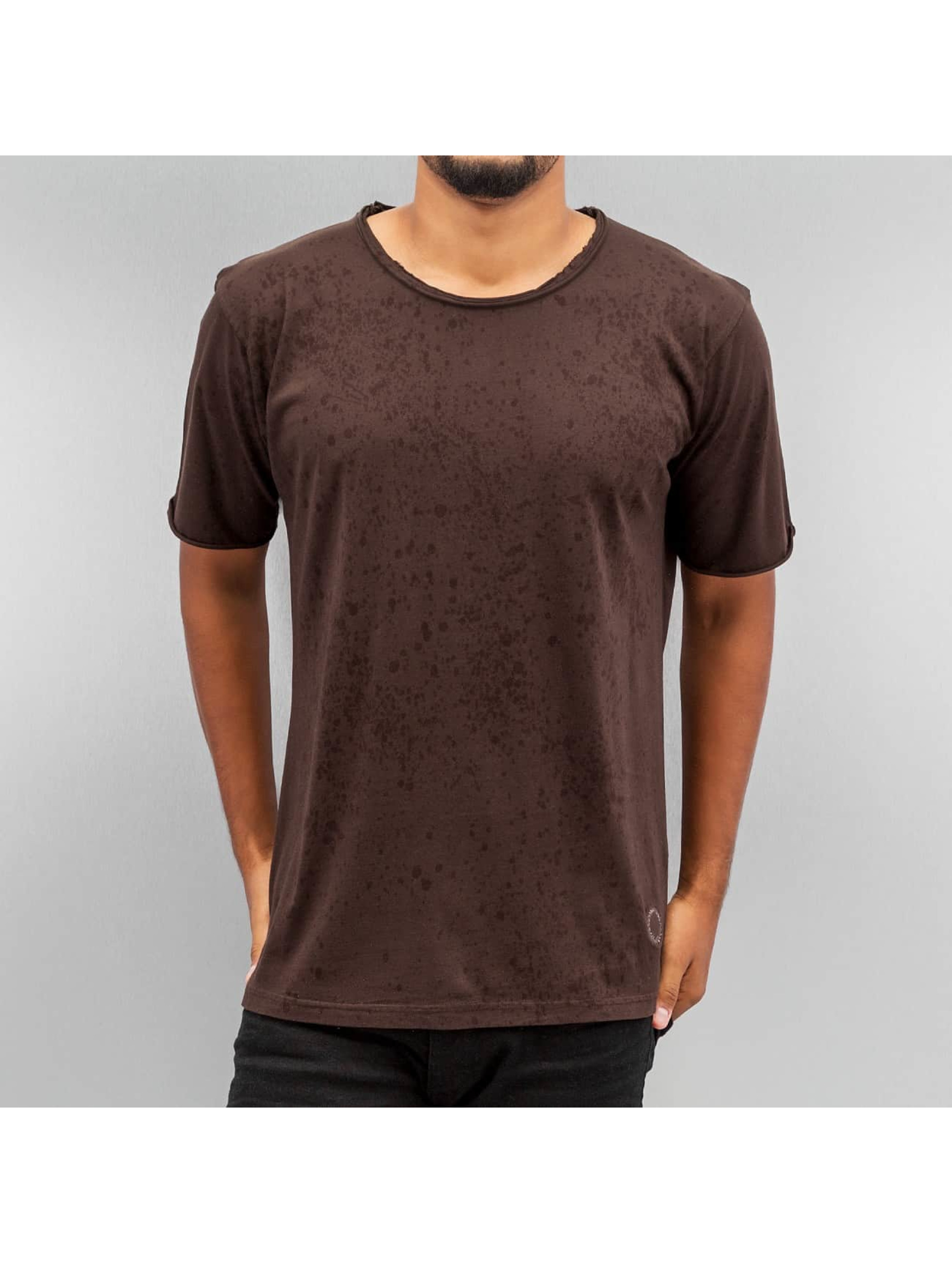 Yezz T-Shirt Splash braun