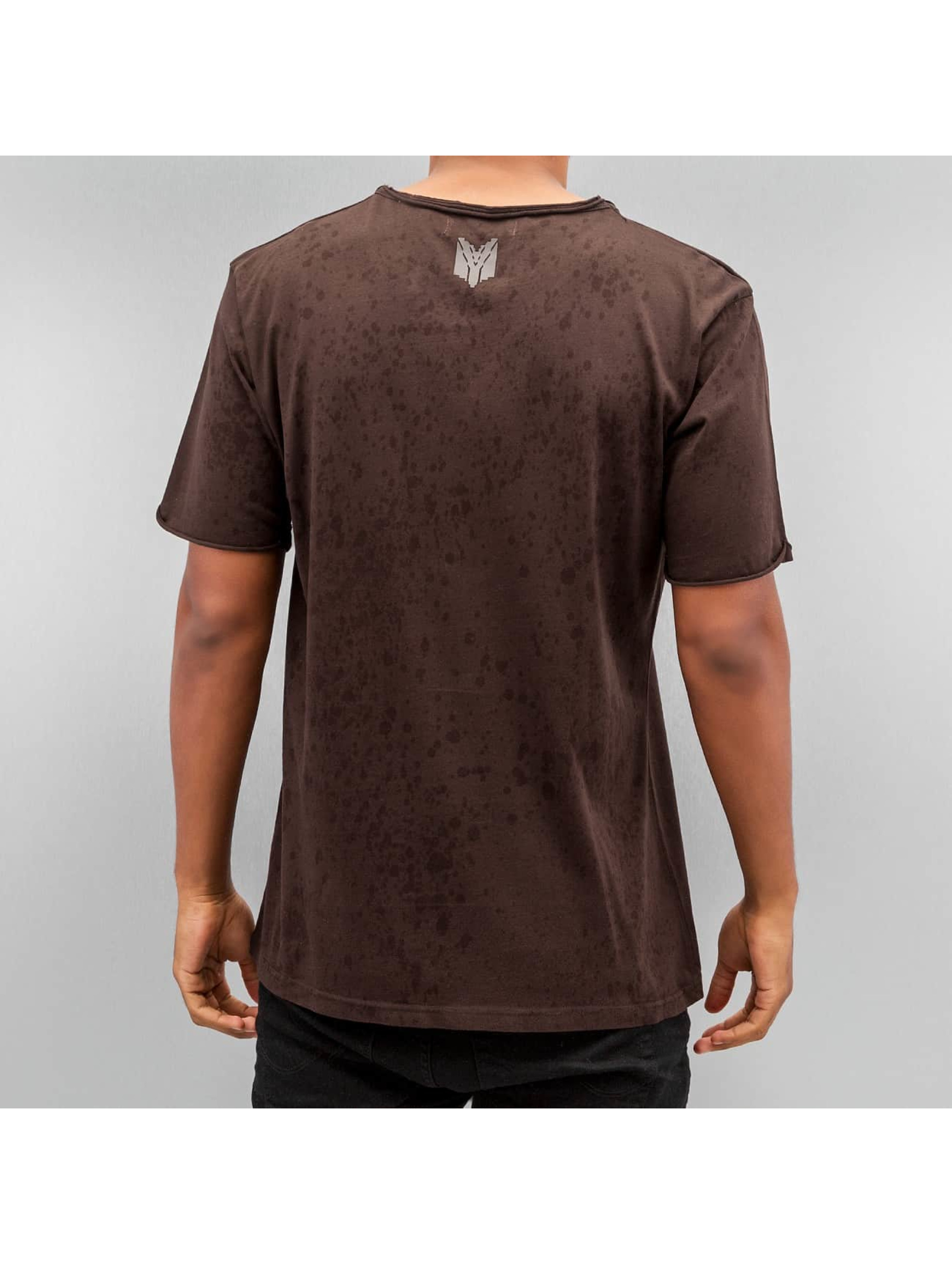 Yezz T-Shirt Splash brun
