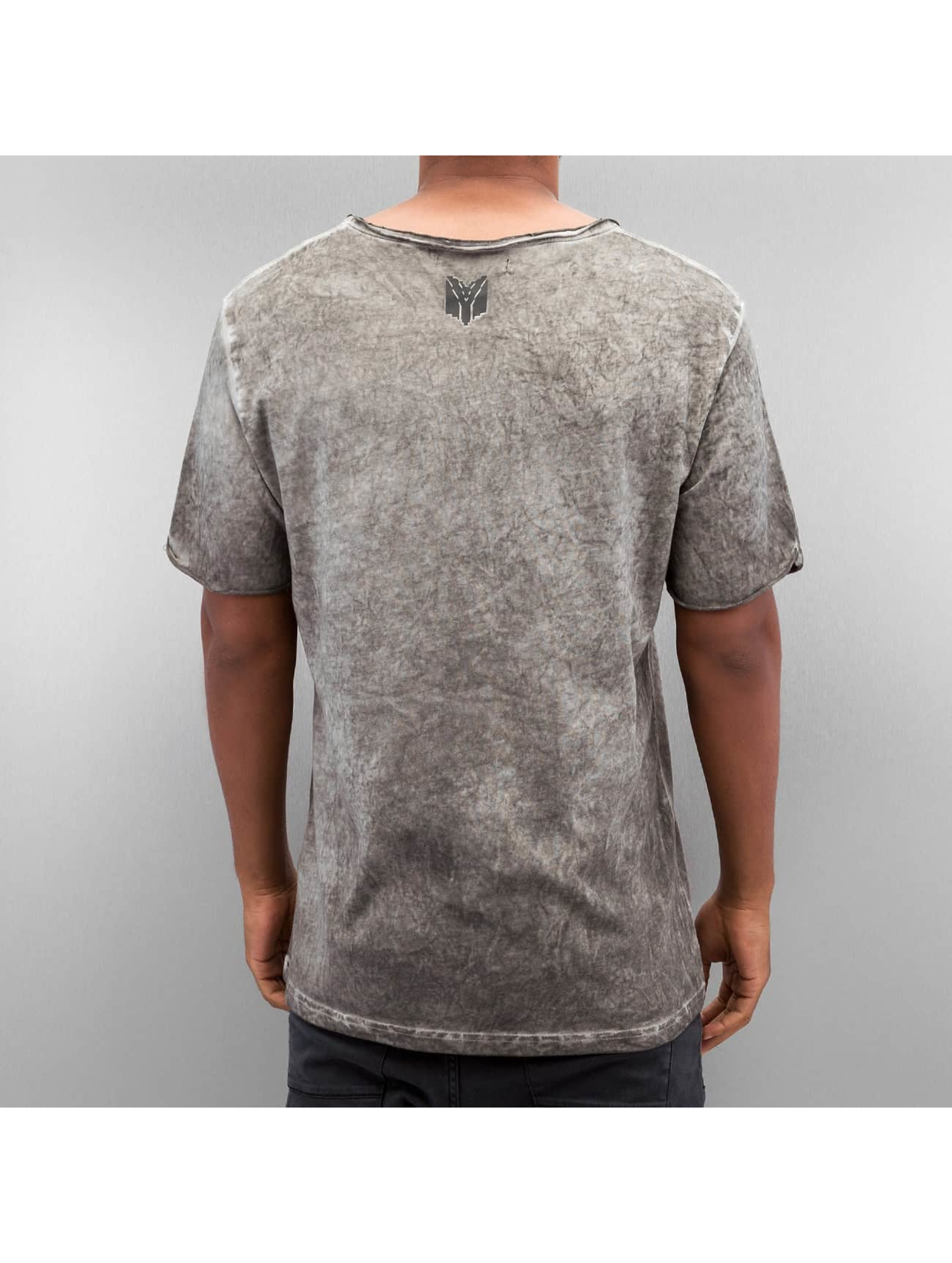 Yezz T-Shirt Washed grau