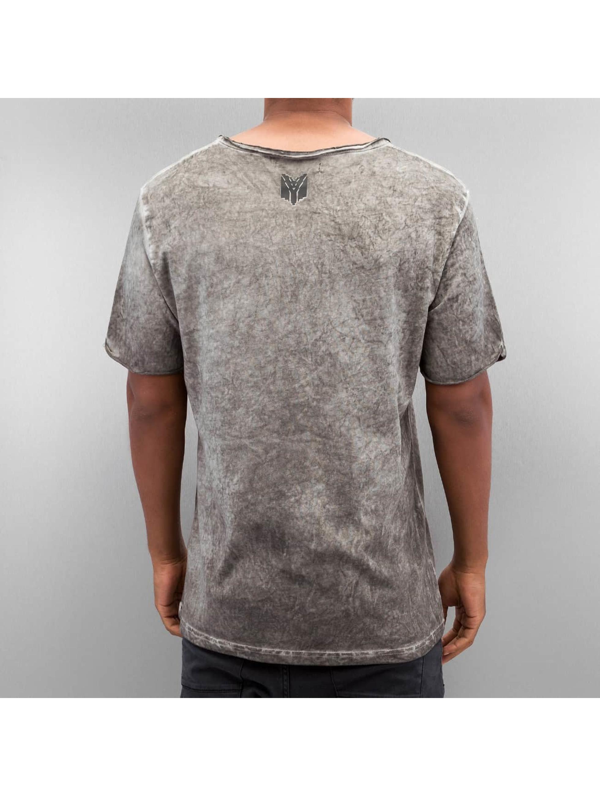Yezz T-Shirt Washed gris