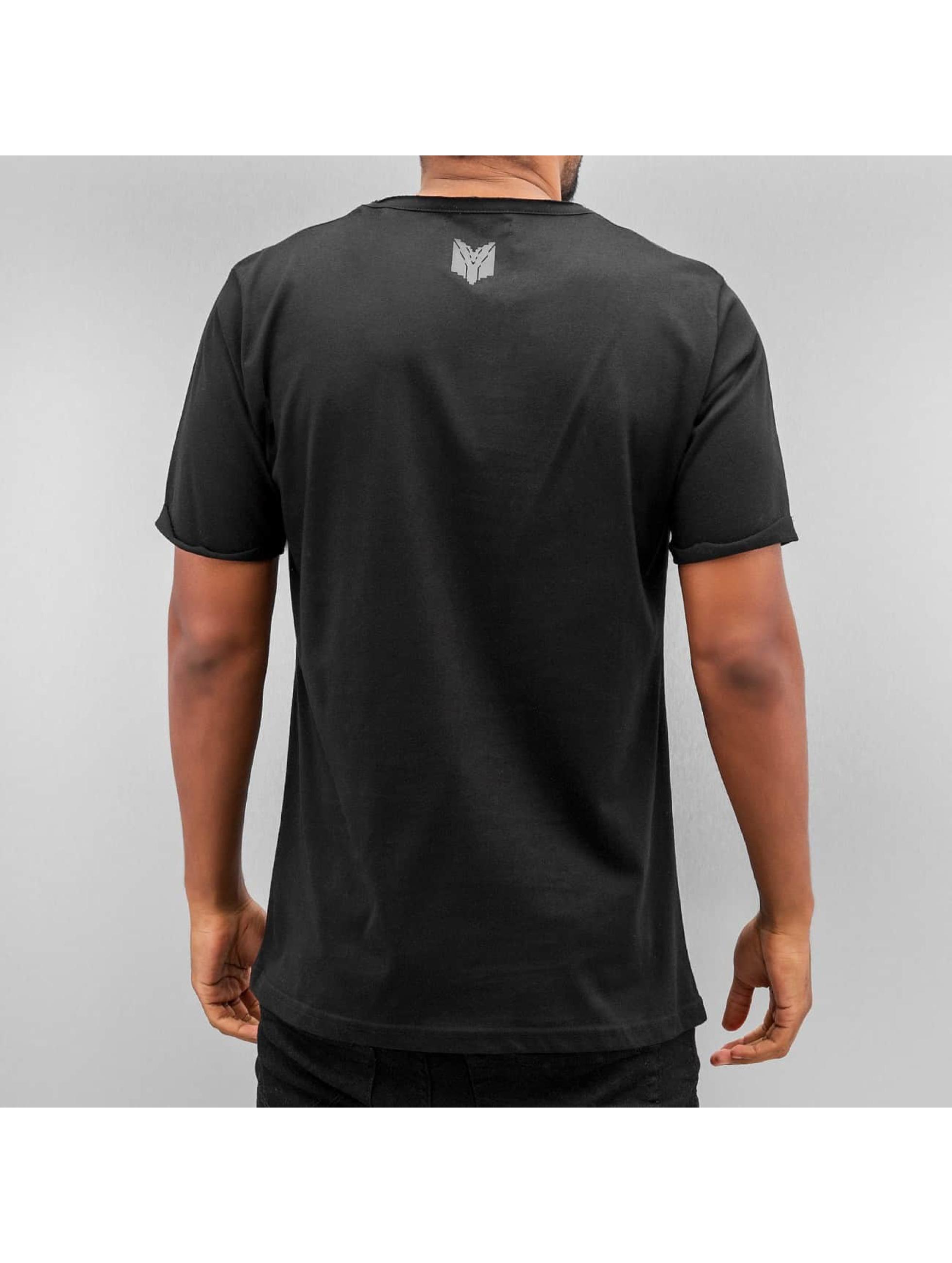 Yezz T-Shirt Blank schwarz