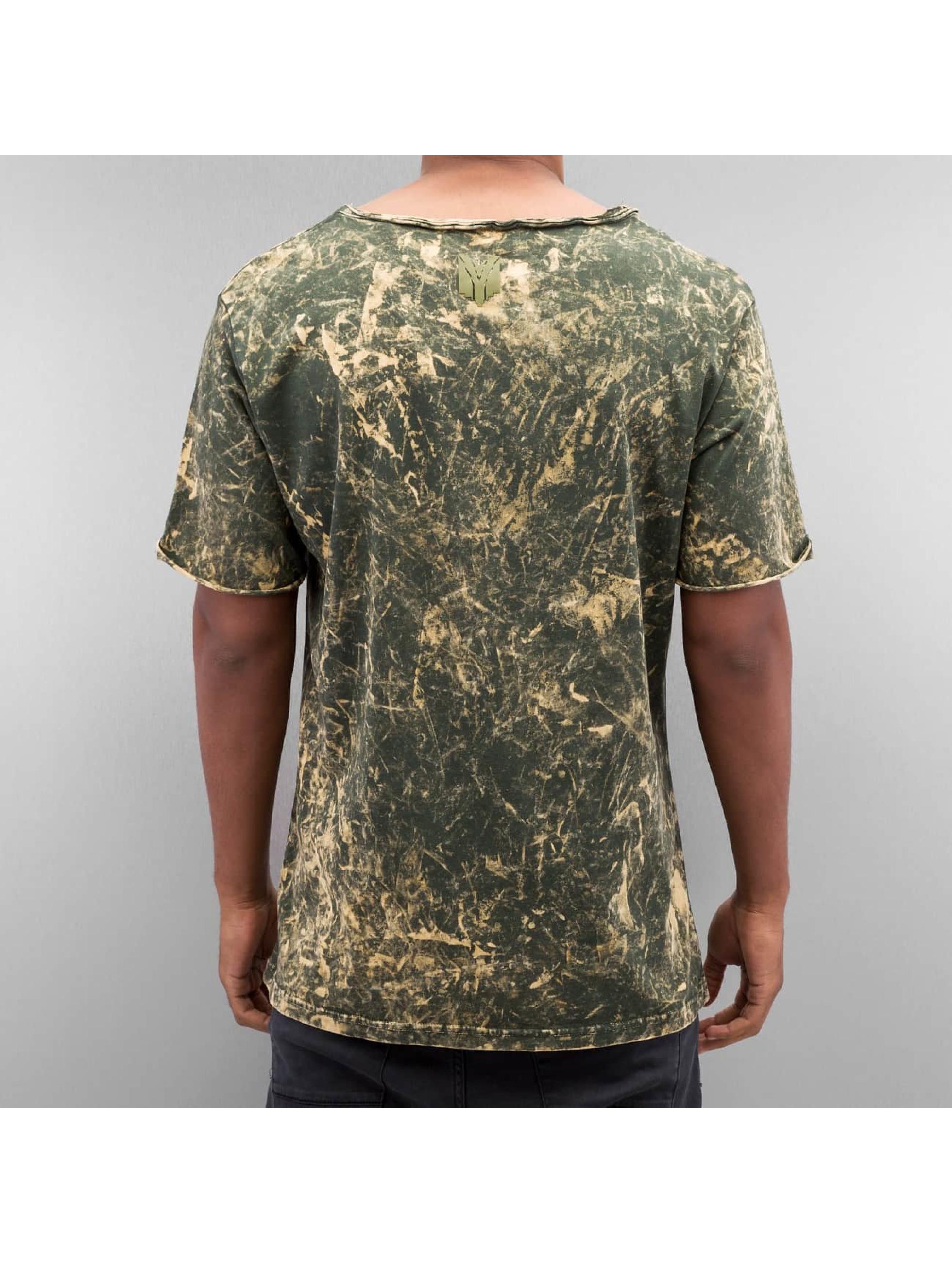 Yezz T-Shirty Acid oliwkowy