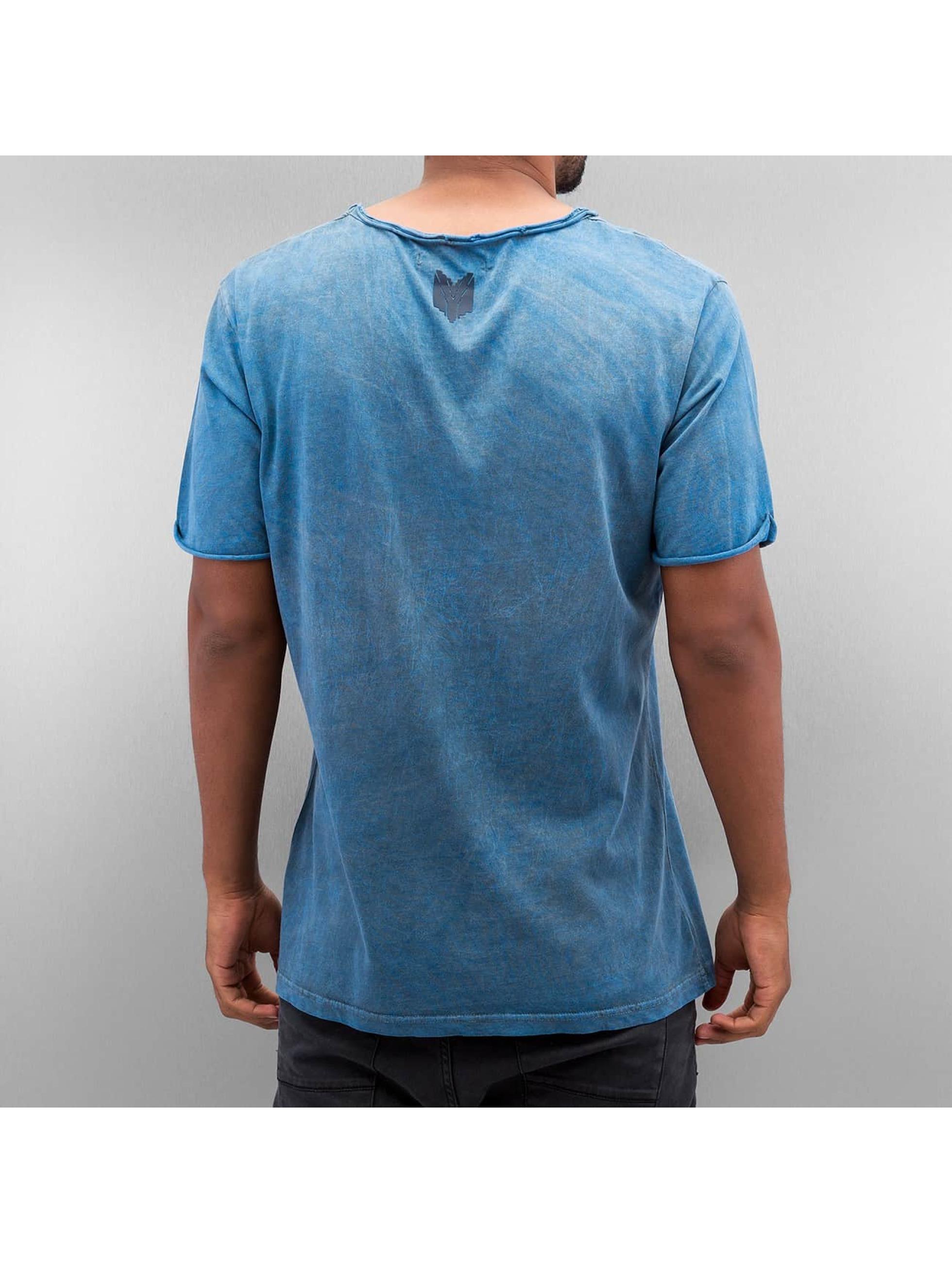 Yezz T-skjorter Marble blå