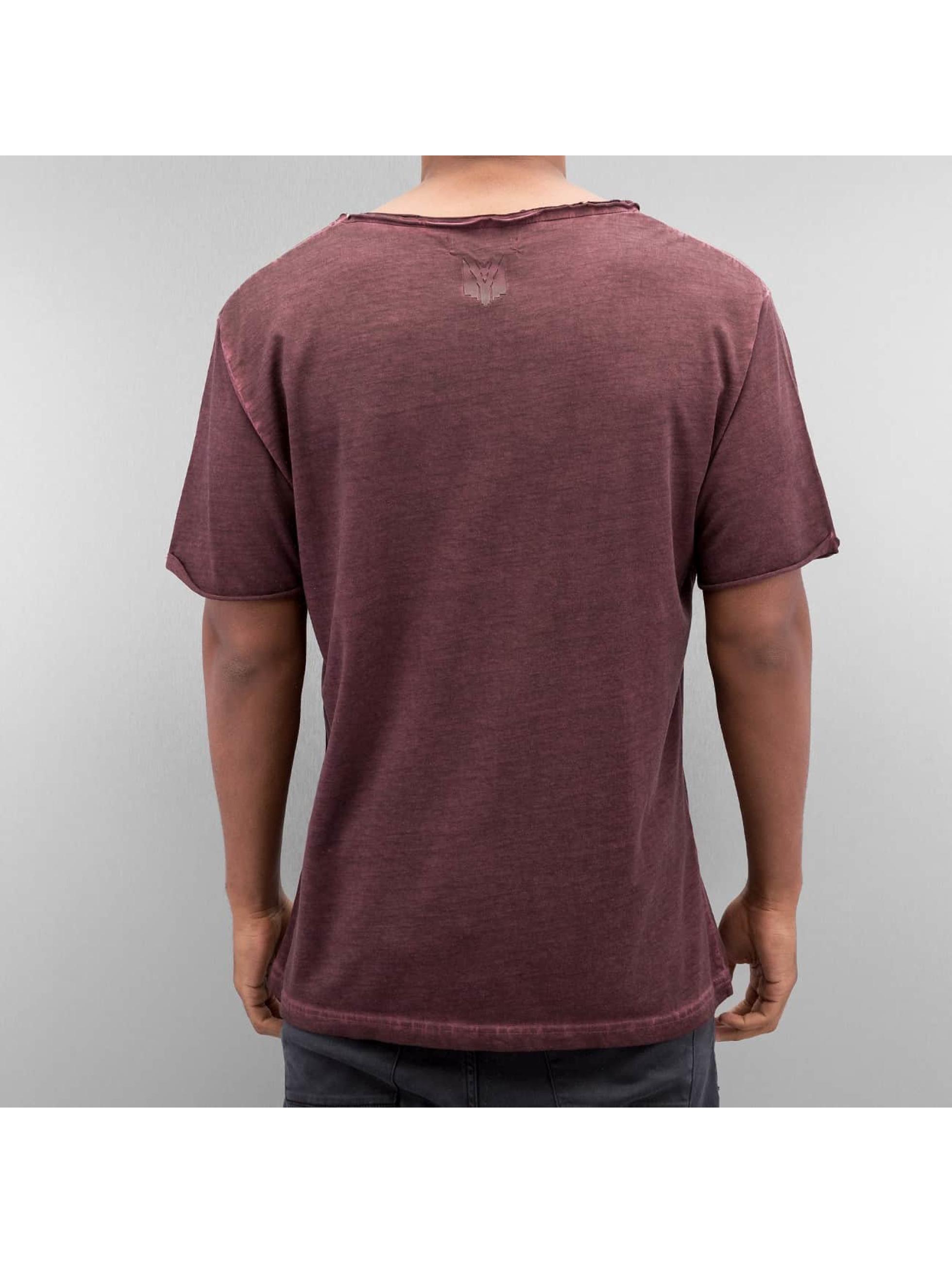 Yezz T-skjorter Dyed red