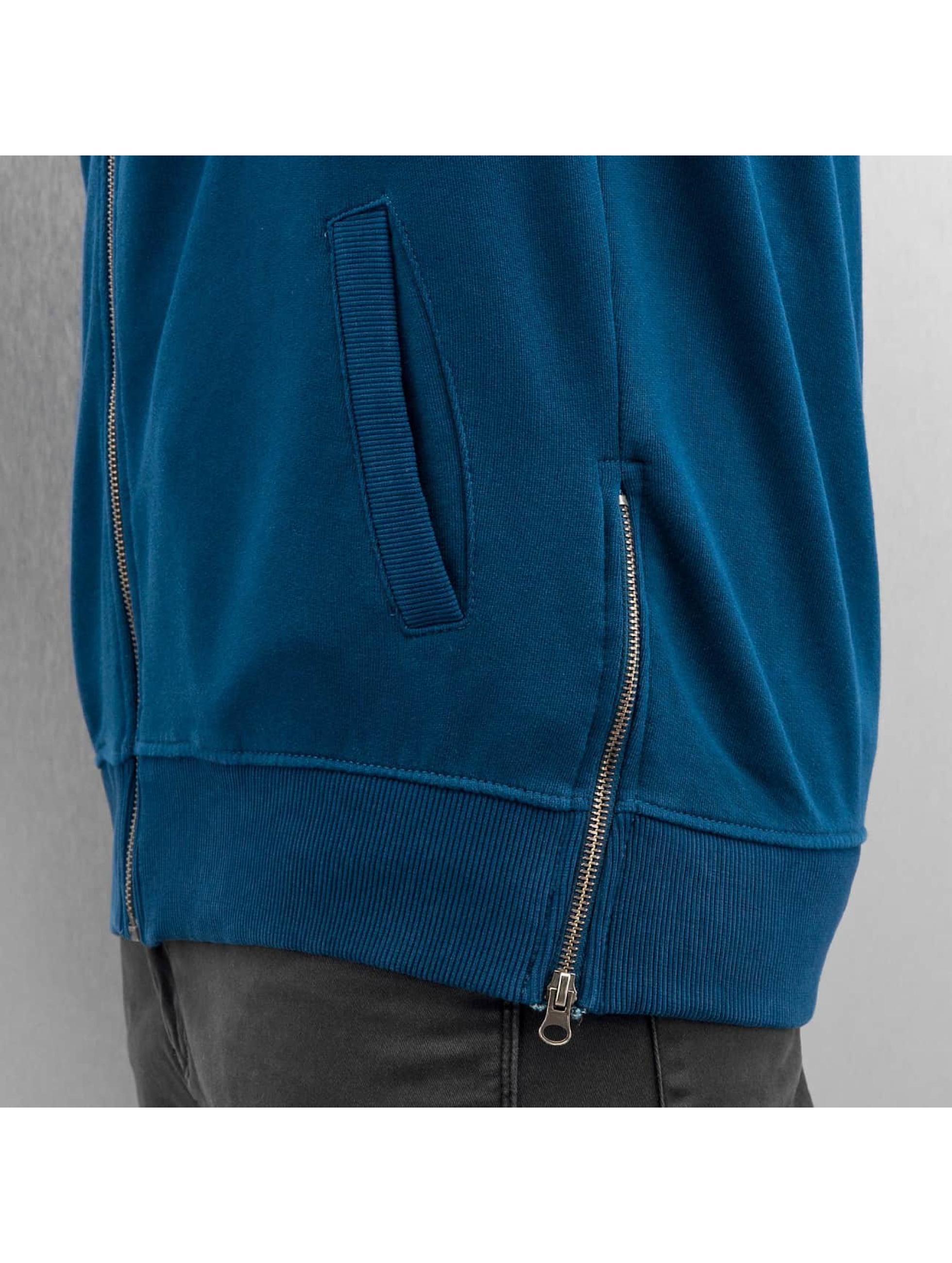 Yezz Zip Hoodie Togo blau