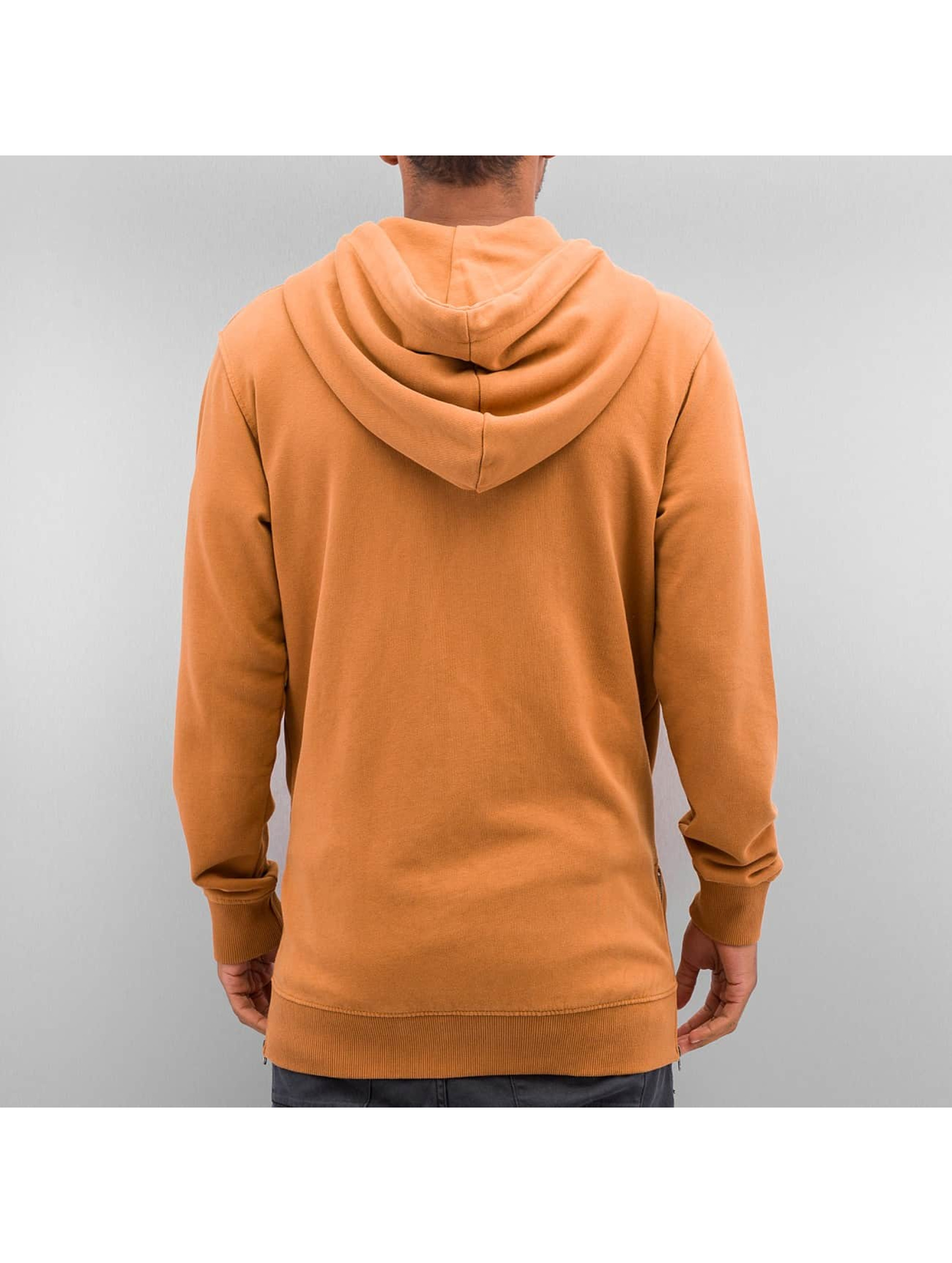 Yezz Zip Hoodie Togo brown